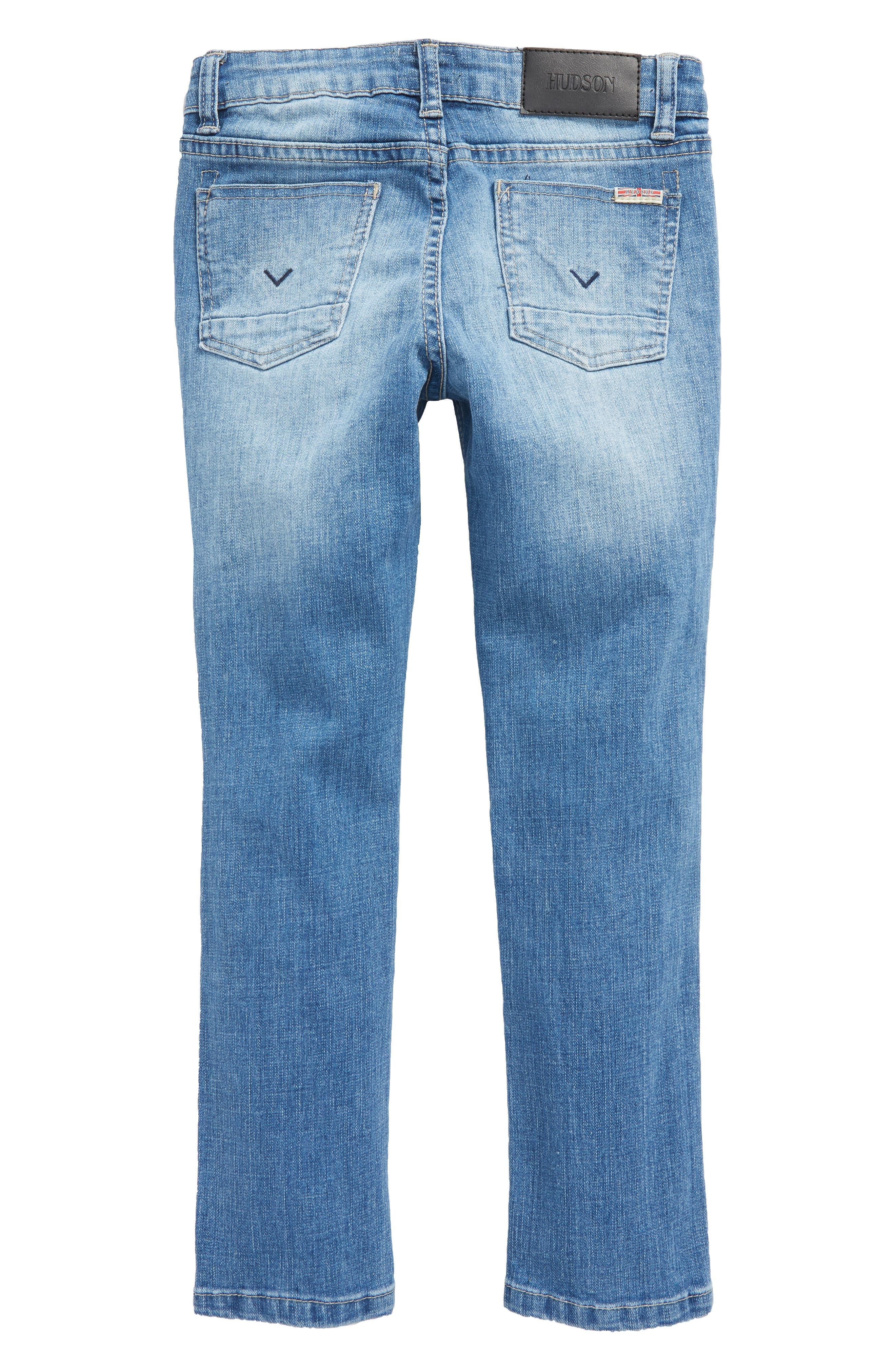 Jude Skinny Jeans,                             Alternate thumbnail 2, color,                             Stone Wash