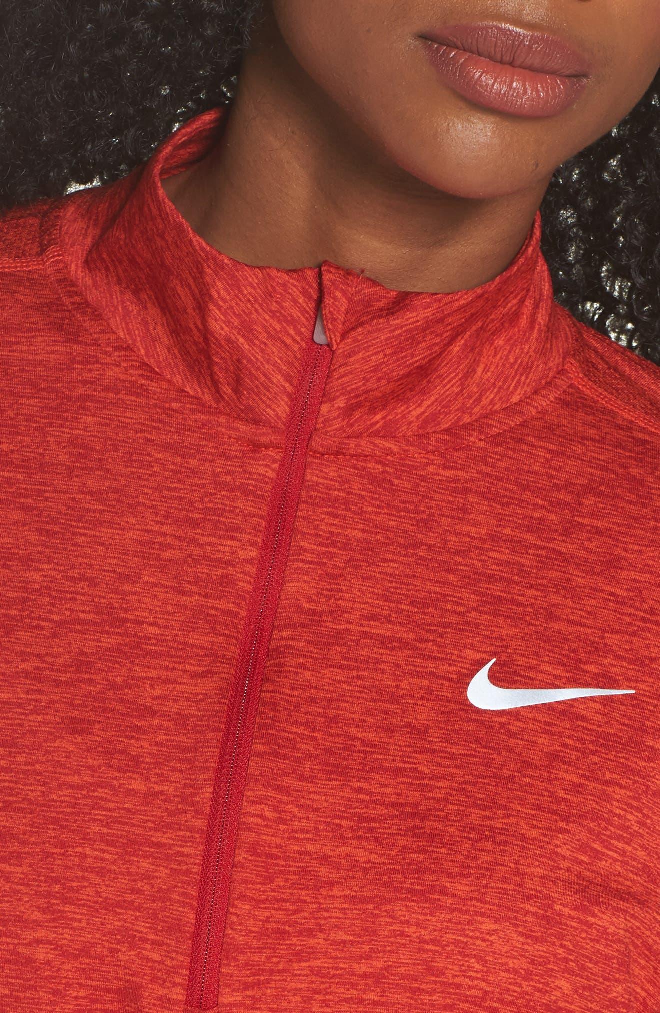 Alternate Image 4  - Nike Dry Element Half Zip Top