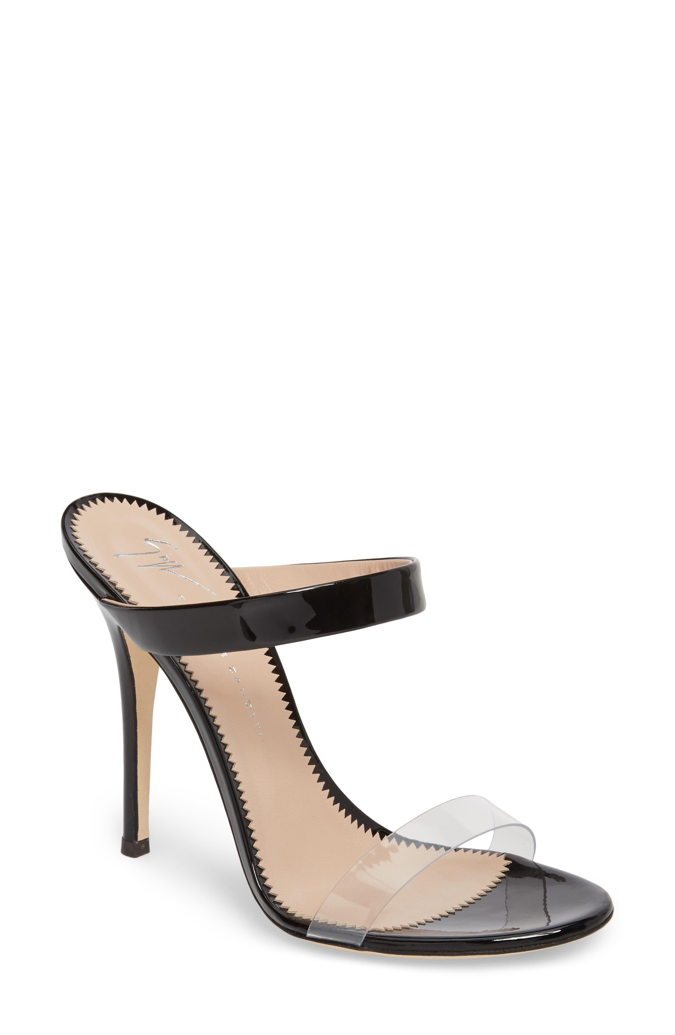 Strappy Sandal,                         Main,                         color, Black