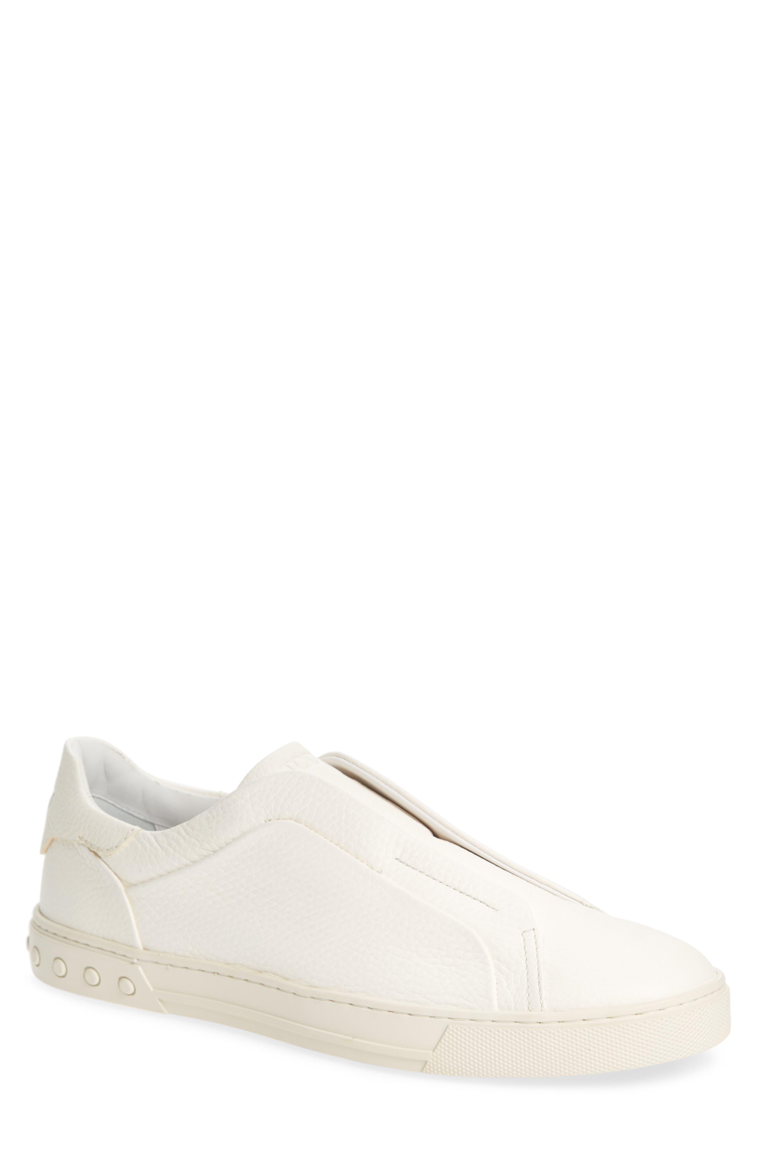 Cassetta Slip-on Sneaker,                             Main thumbnail 1, color,                             White