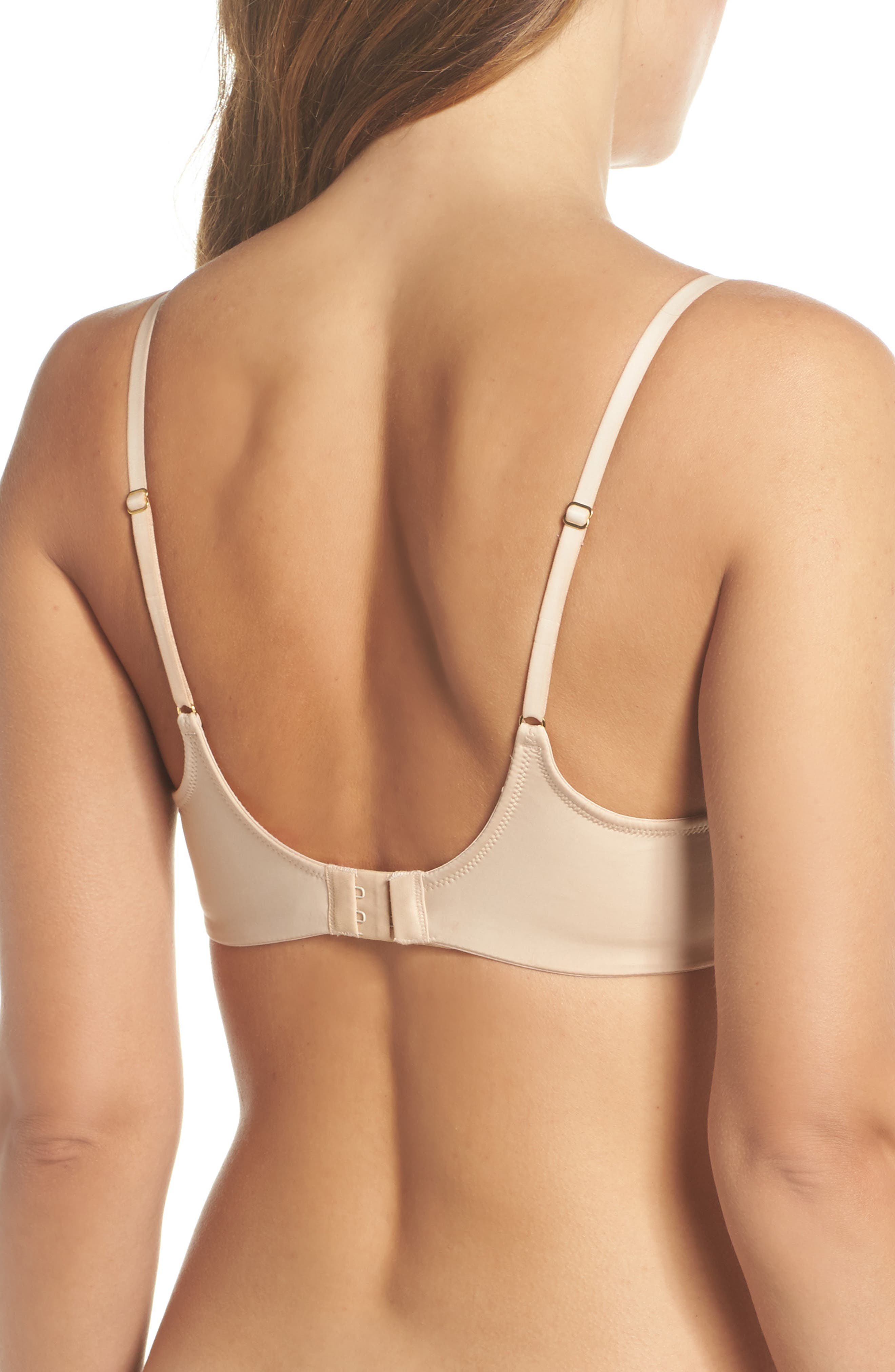 Underneath Underwire T-Shirt Bra,                             Alternate thumbnail 2, color,                             Cosmetic