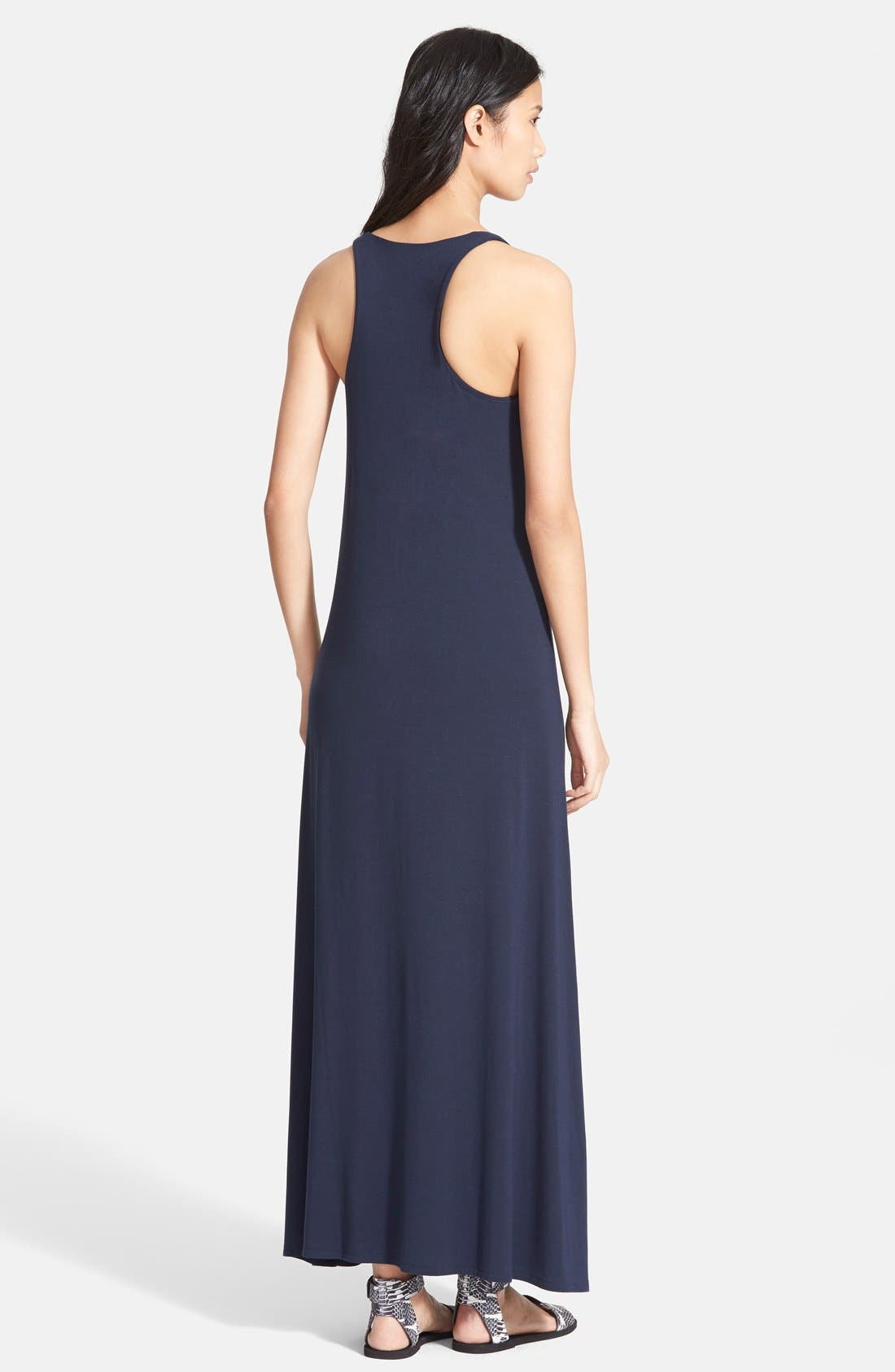 Alternate Image 2  - Vince V-Neck Maxi Dress (Nordstrom Exclusive)