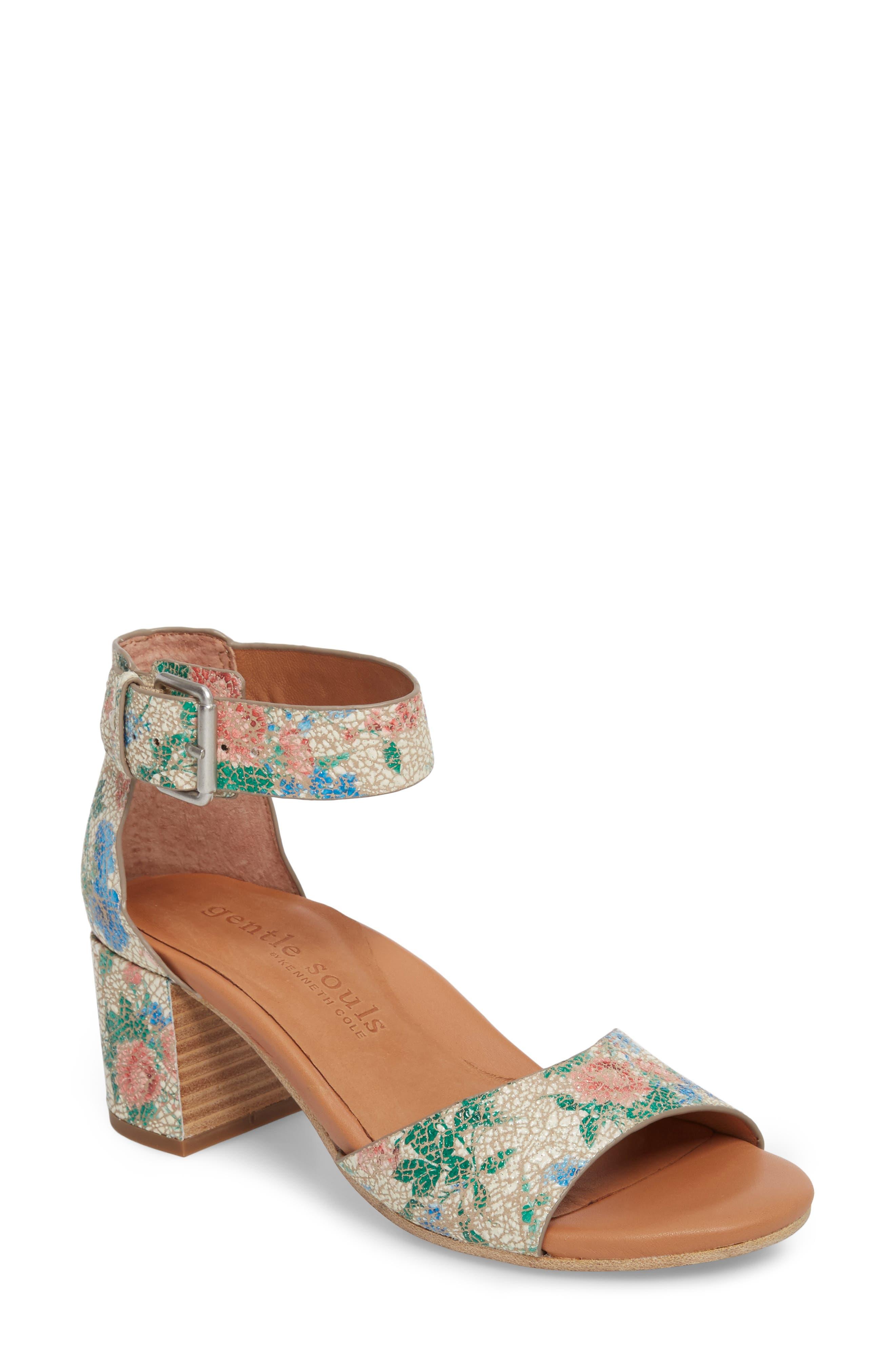 Alternate Image 1 Selected - Gentle Souls Christa Block Heel Sandal (Women)