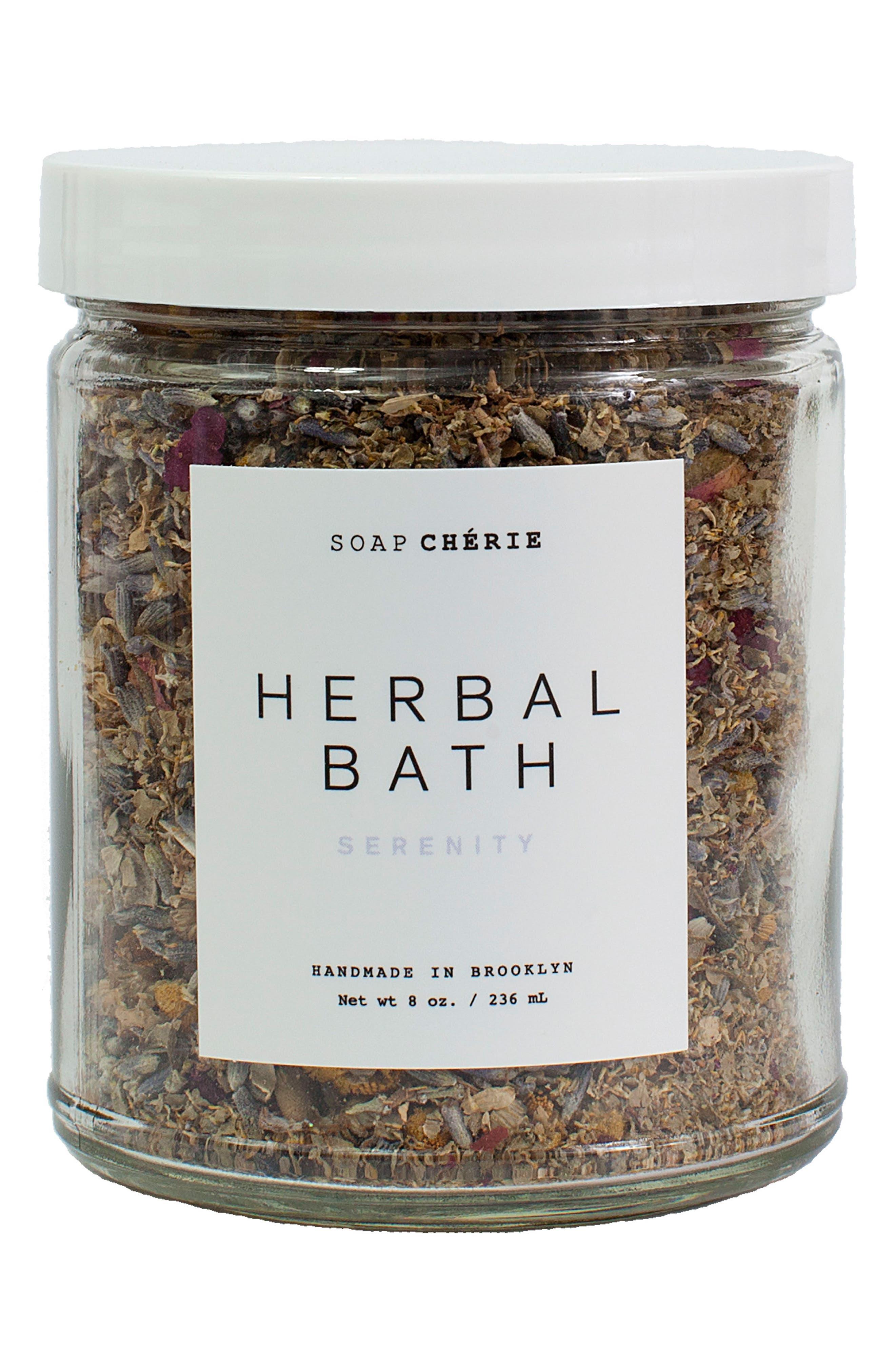 Soap Chérie Serenity Herbal Bath,                             Main thumbnail 1, color,                             No Color