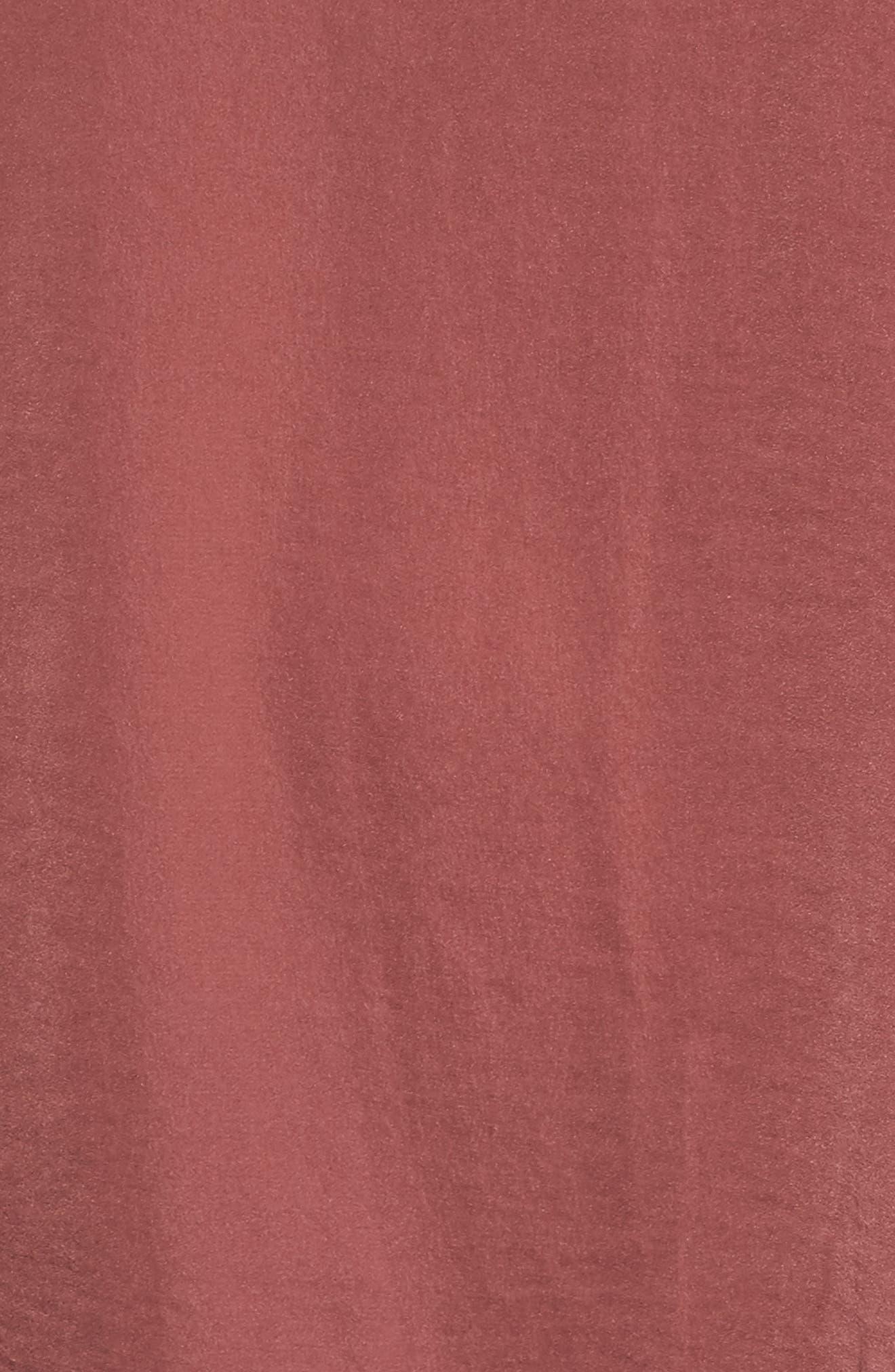 Jenna Peasant Top,                             Alternate thumbnail 5, color,                             Rose