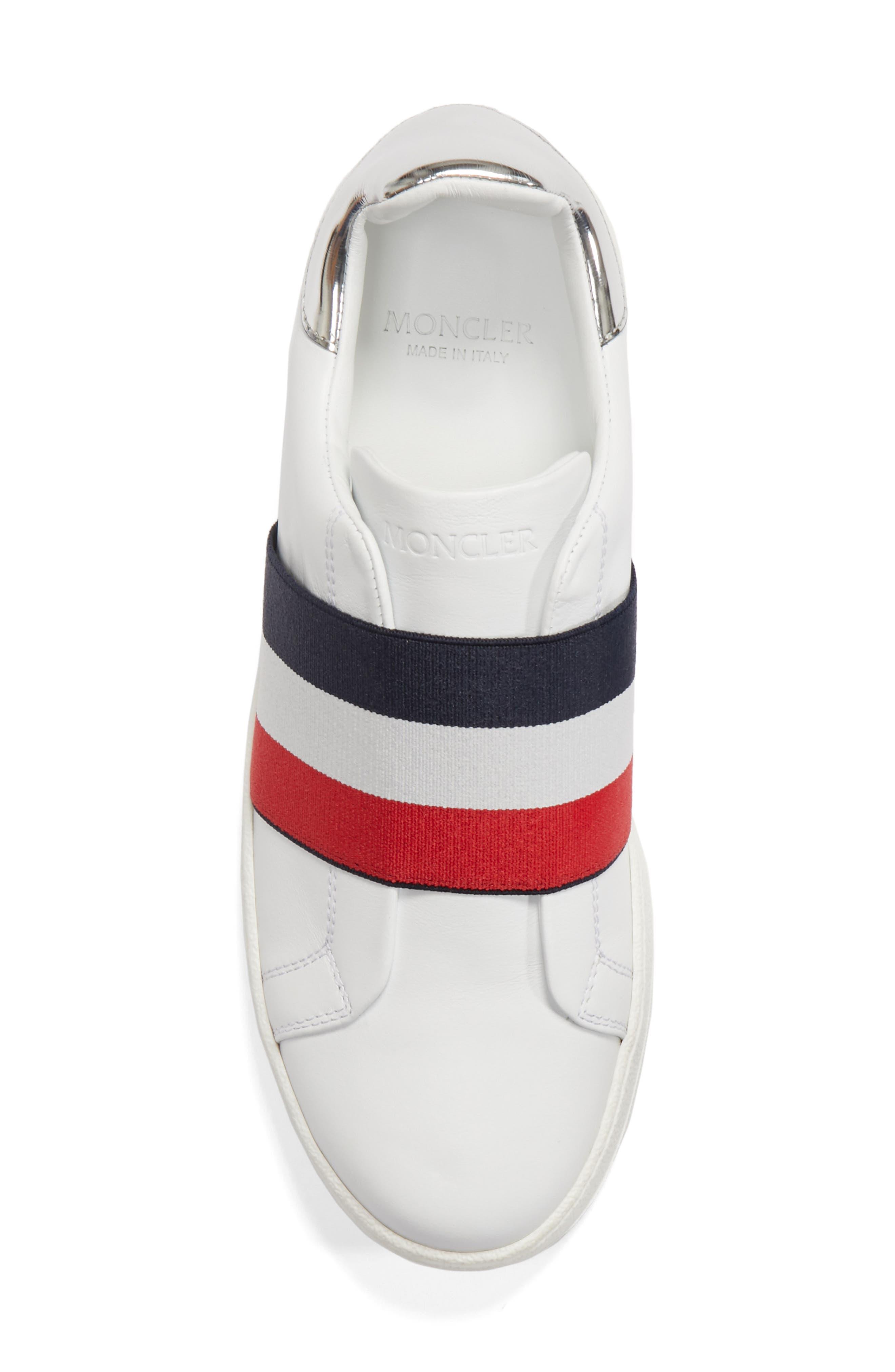 Alizee Low Top Sneaker,                             Alternate thumbnail 5, color,                             White