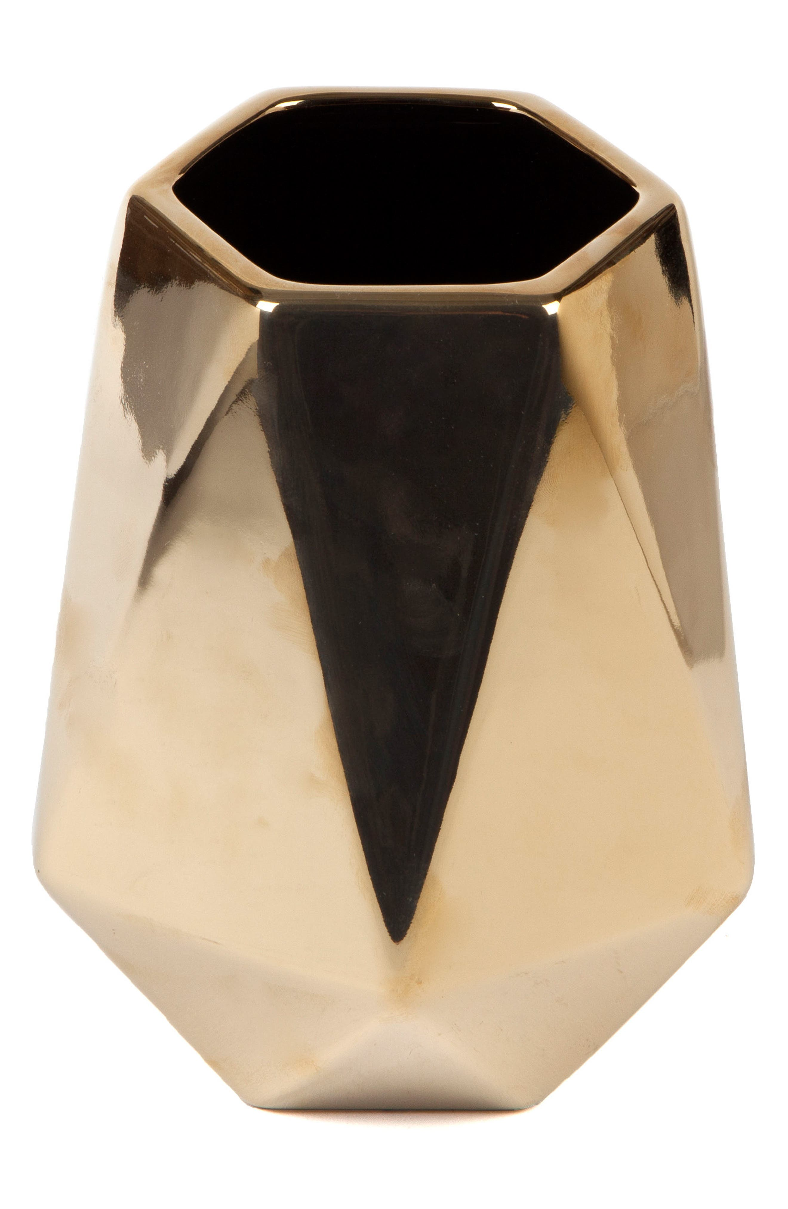 Core Home Geo Stoneware Vase
