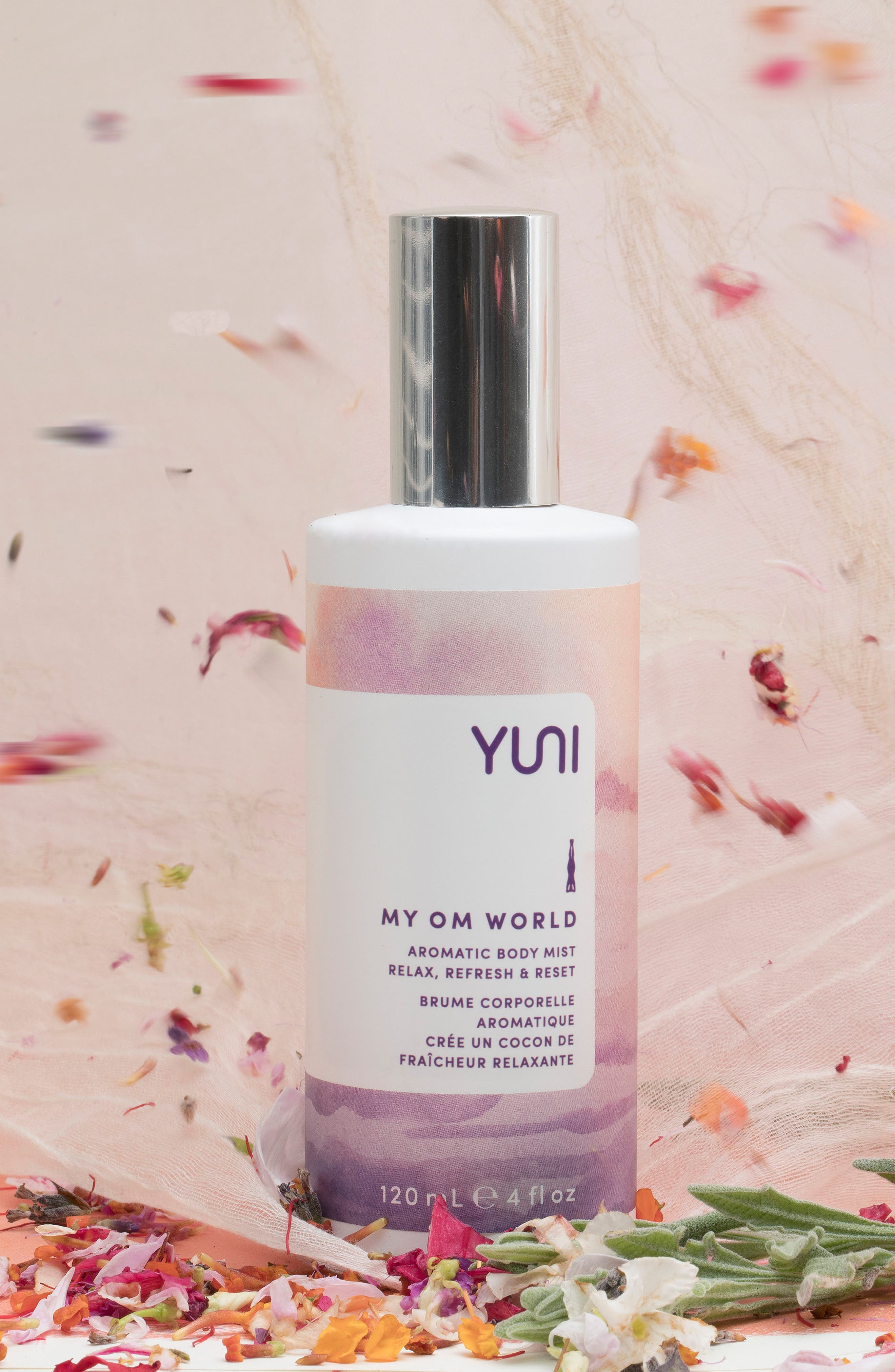 My Om World Aromatic Body Mist,                             Alternate thumbnail 3, color,                             No Color