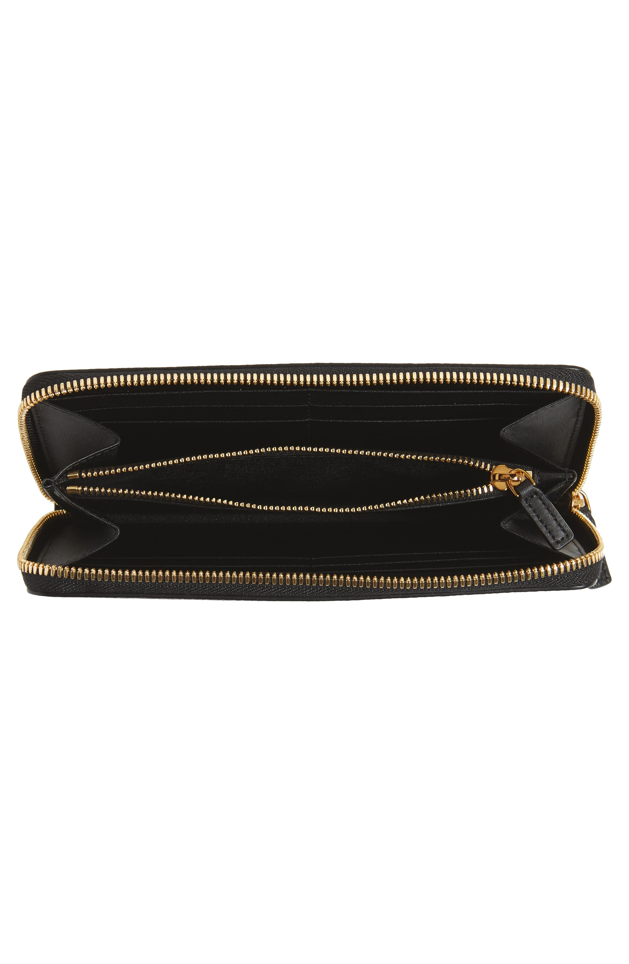 Alternate Image 2  - MCM Large Milla Zip-Around Leather Wallet