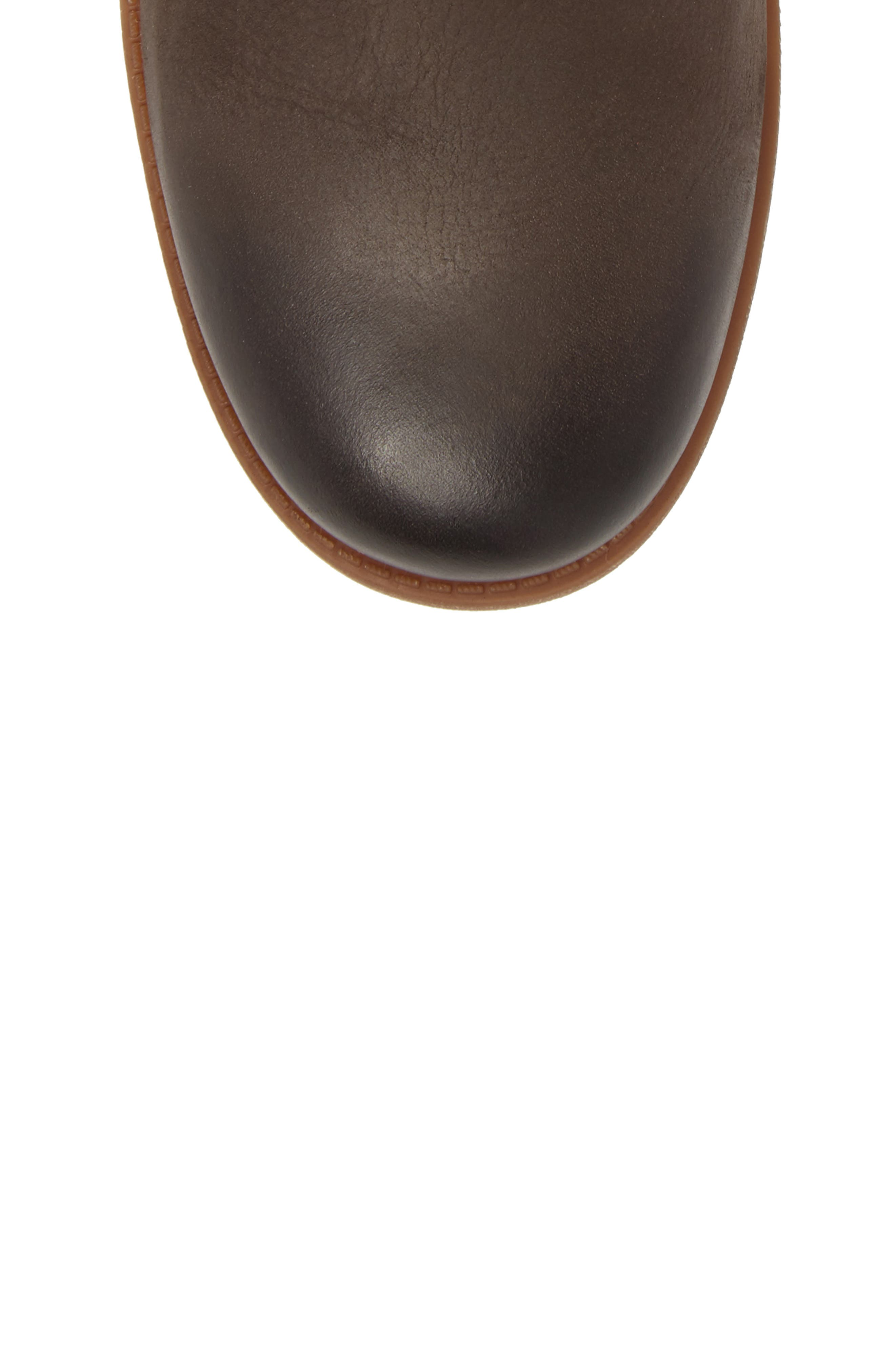 Chancey Moto Boot,                             Alternate thumbnail 5, color,                             Stout Leather