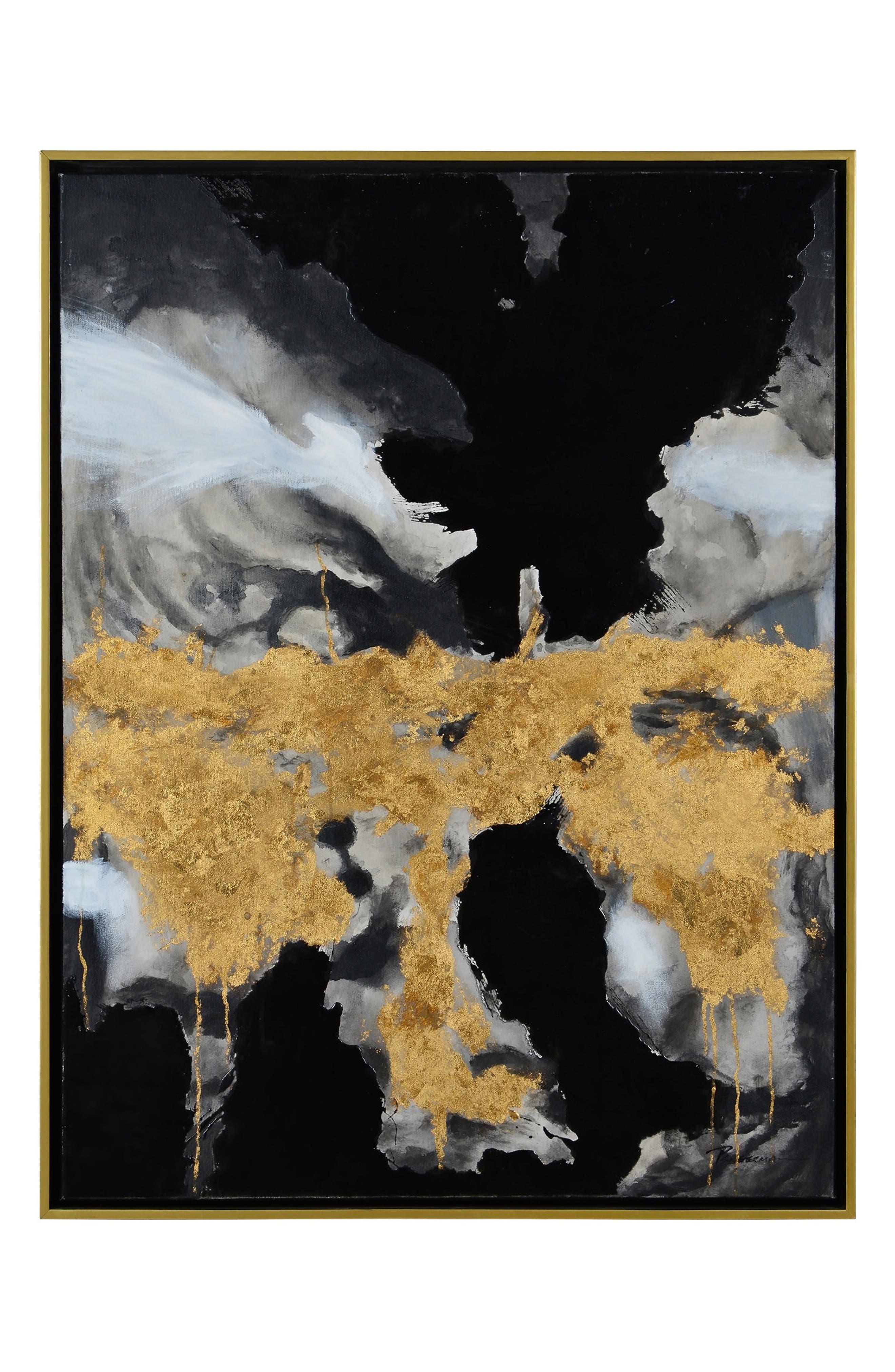 Royal Palm Canvas Art,                             Main thumbnail 1, color,                             Multicolor