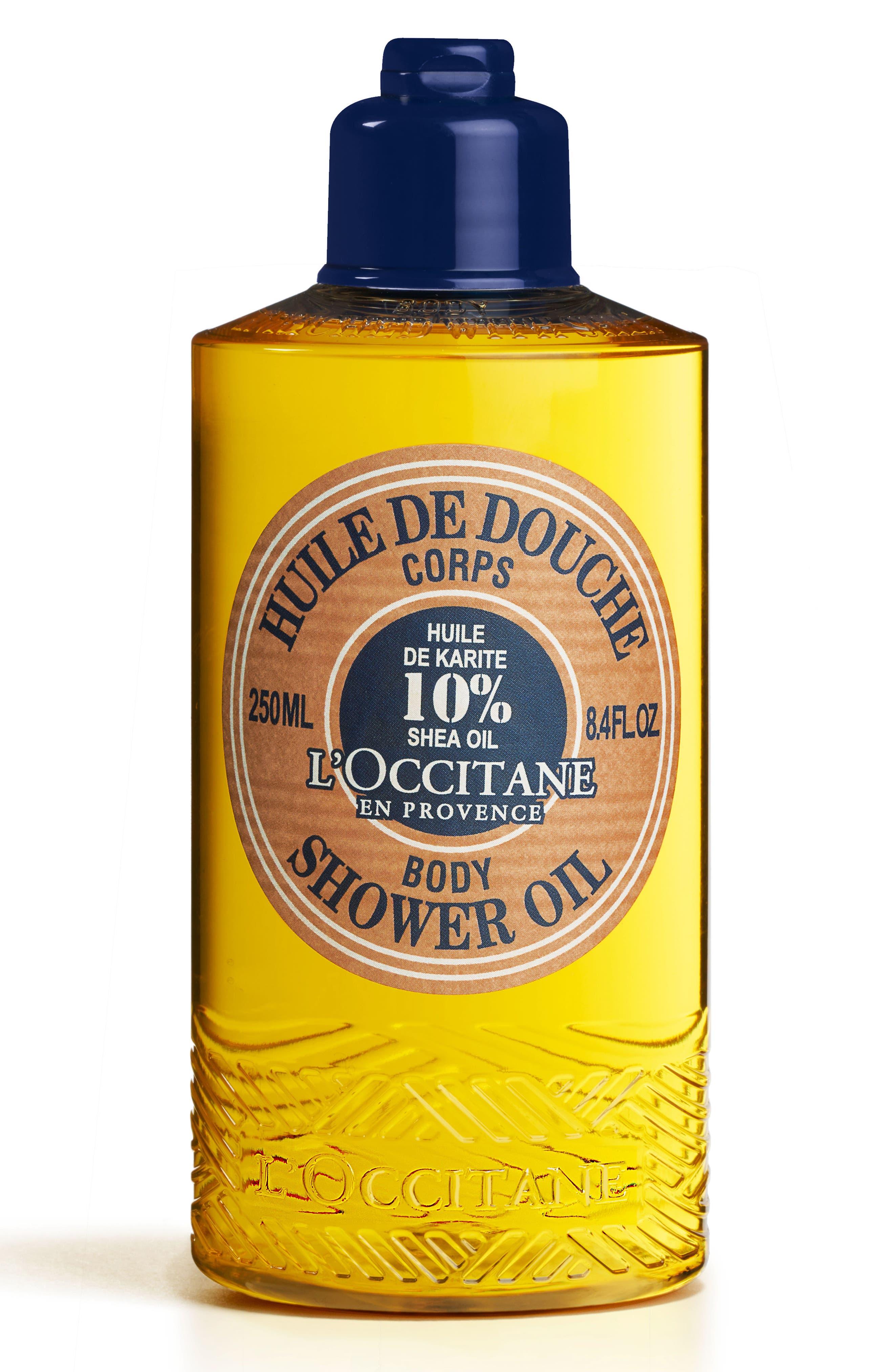 Alternate Image 1 Selected - L'Occitane Shea Body Shower Oil