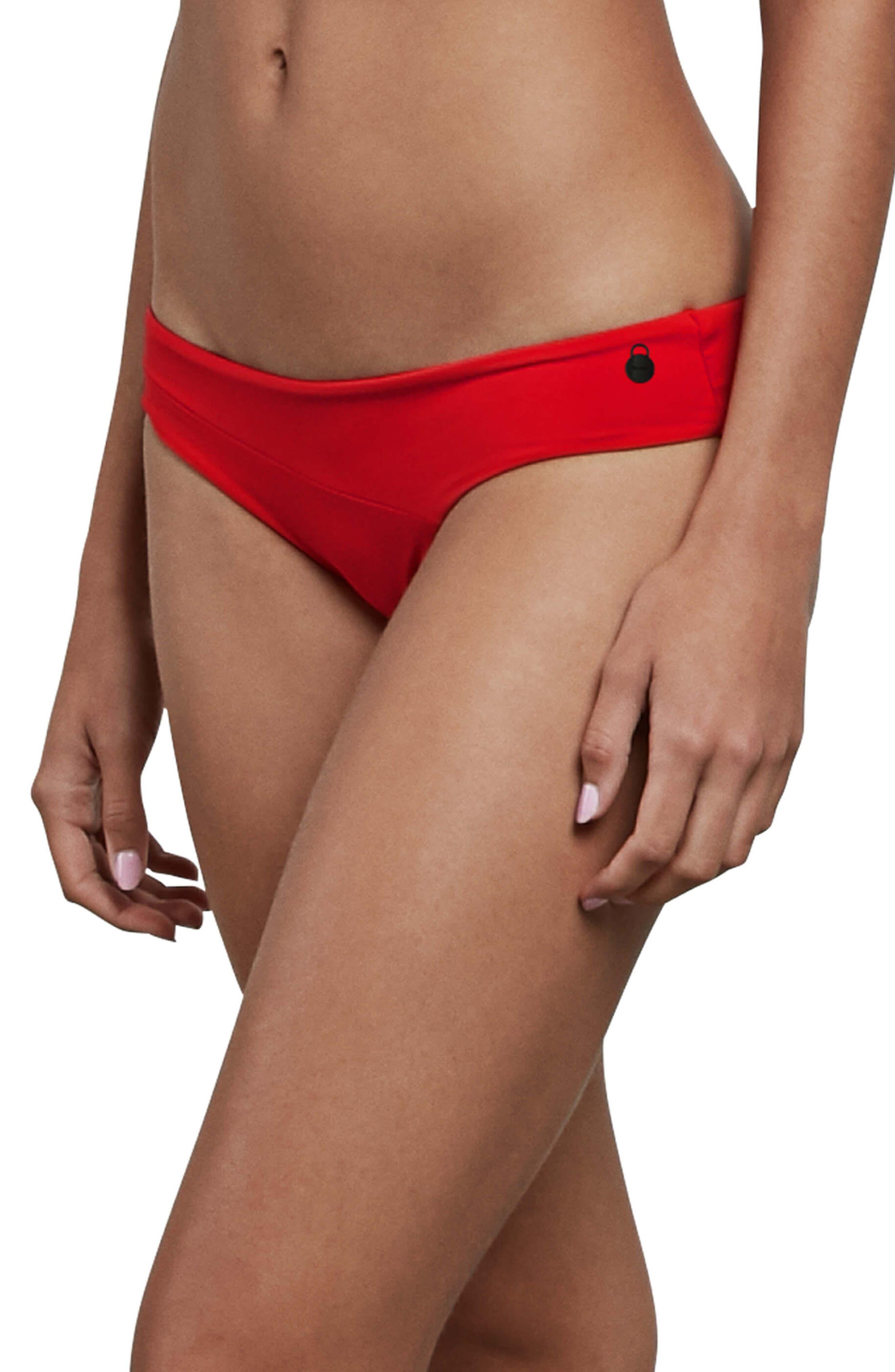 Simply Seamless Bikini Bottoms,                         Main,                         color, True Red