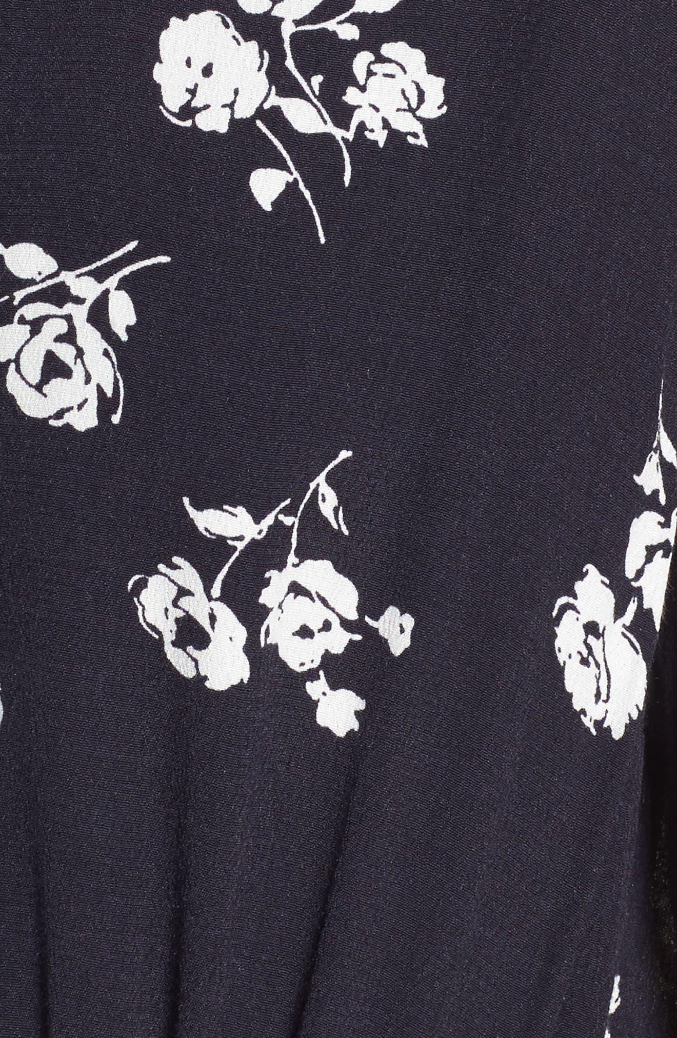 Alternate Image 5  - Rails Sonya Drawstring Waist Dress