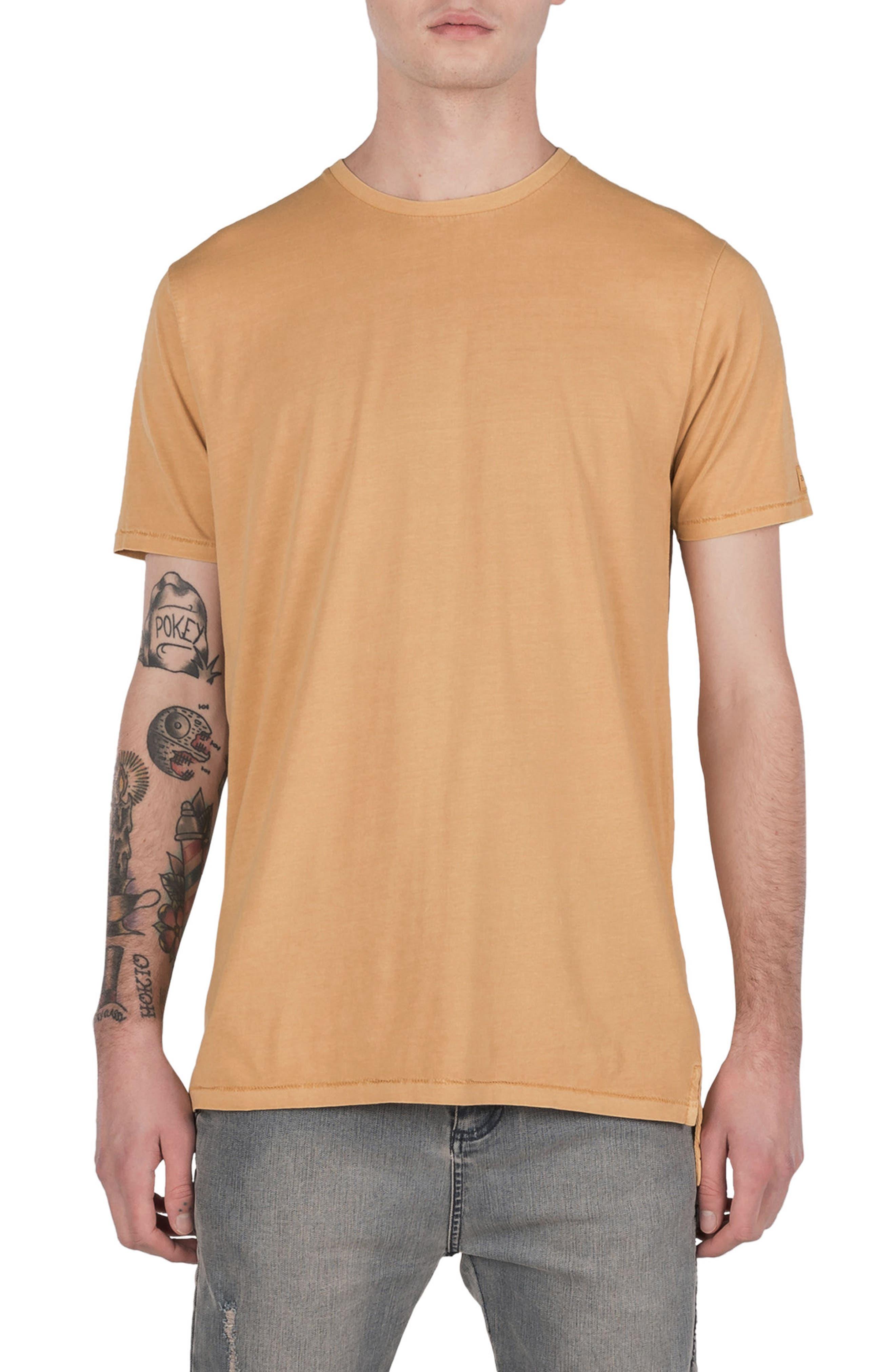 Flintlock T-Shirt,                         Main,                         color, Saffron