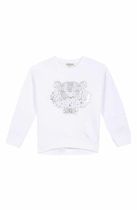 6193282e KENZO Tiger Appliqué Sweatshirt (Toddler Girls, Little Girls & Big Girls)