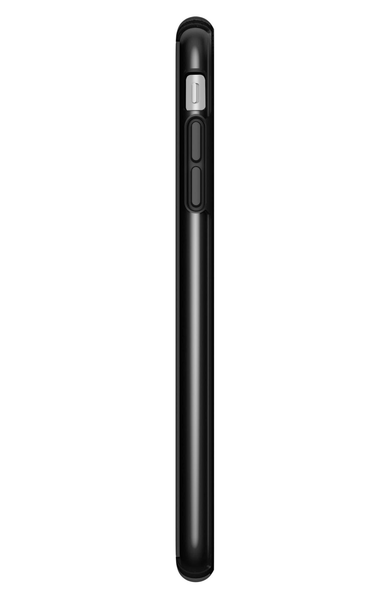iPhone 6/6s/7/8 Plus Case,                             Alternate thumbnail 5, color,                             Clear/ Black
