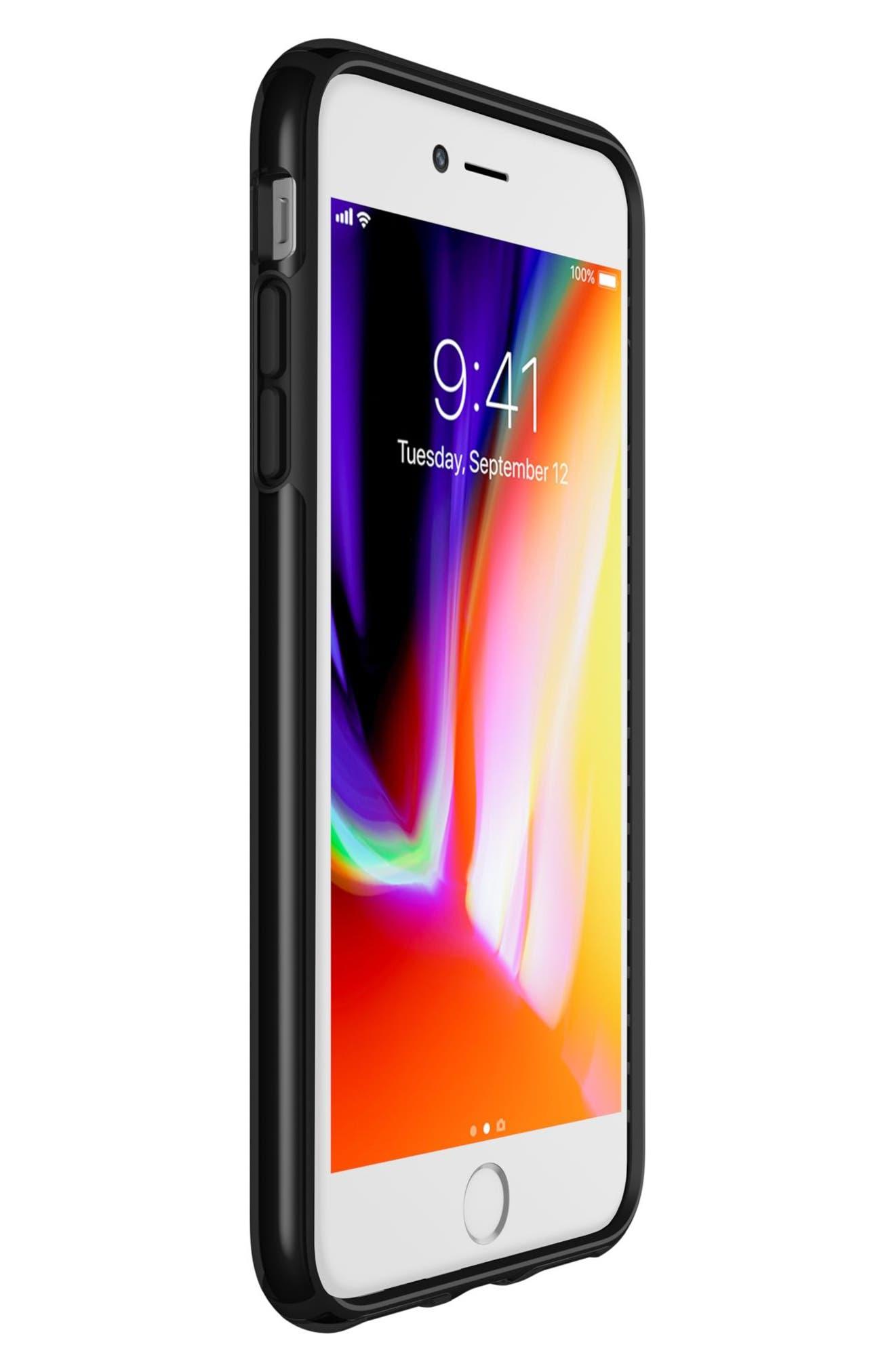 iPhone 6/6s/7/8 Plus Case,                             Alternate thumbnail 6, color,                             Clear/ Black