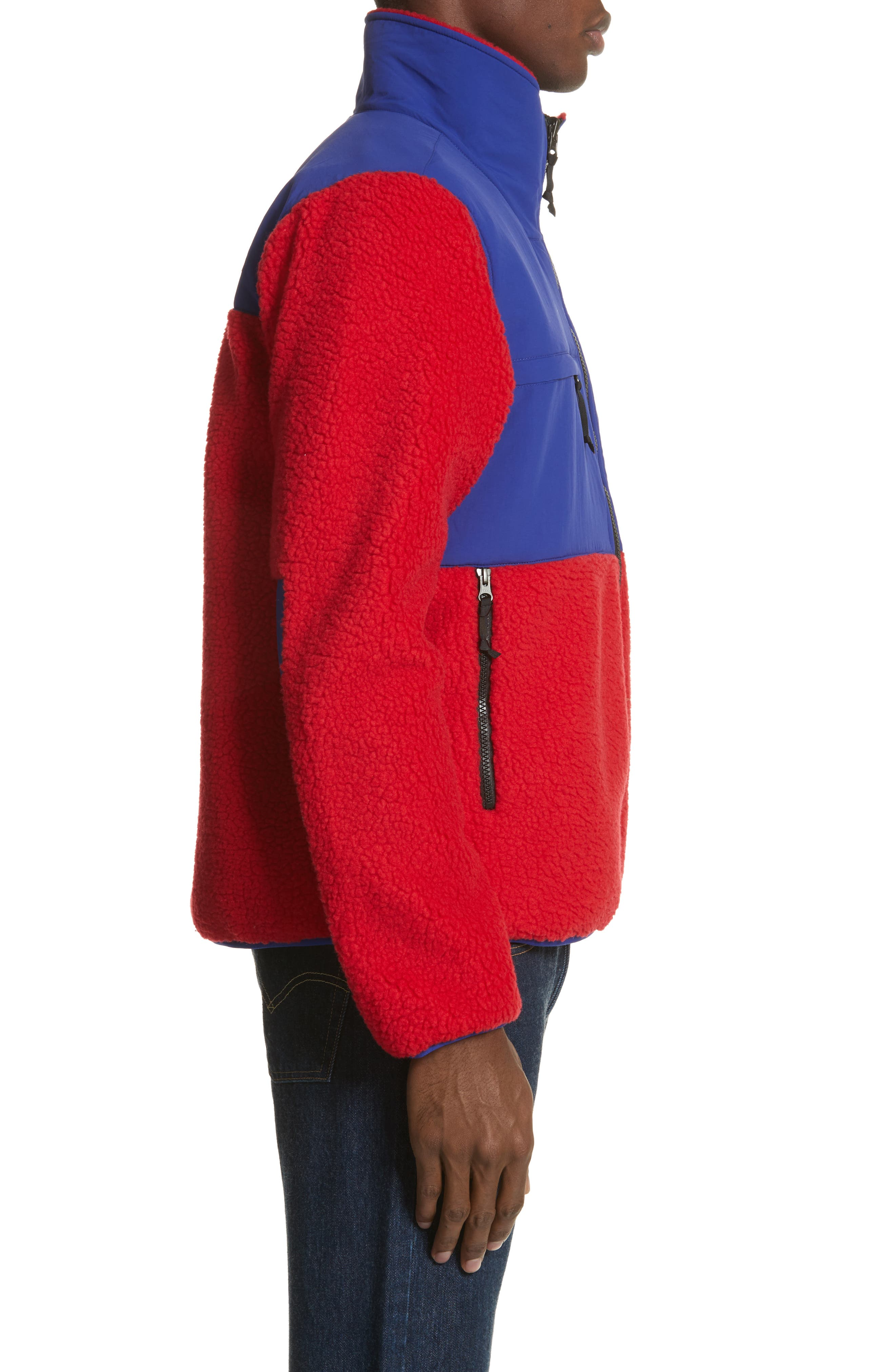 Denali Jacket,                             Alternate thumbnail 9, color,                             Tnf Red