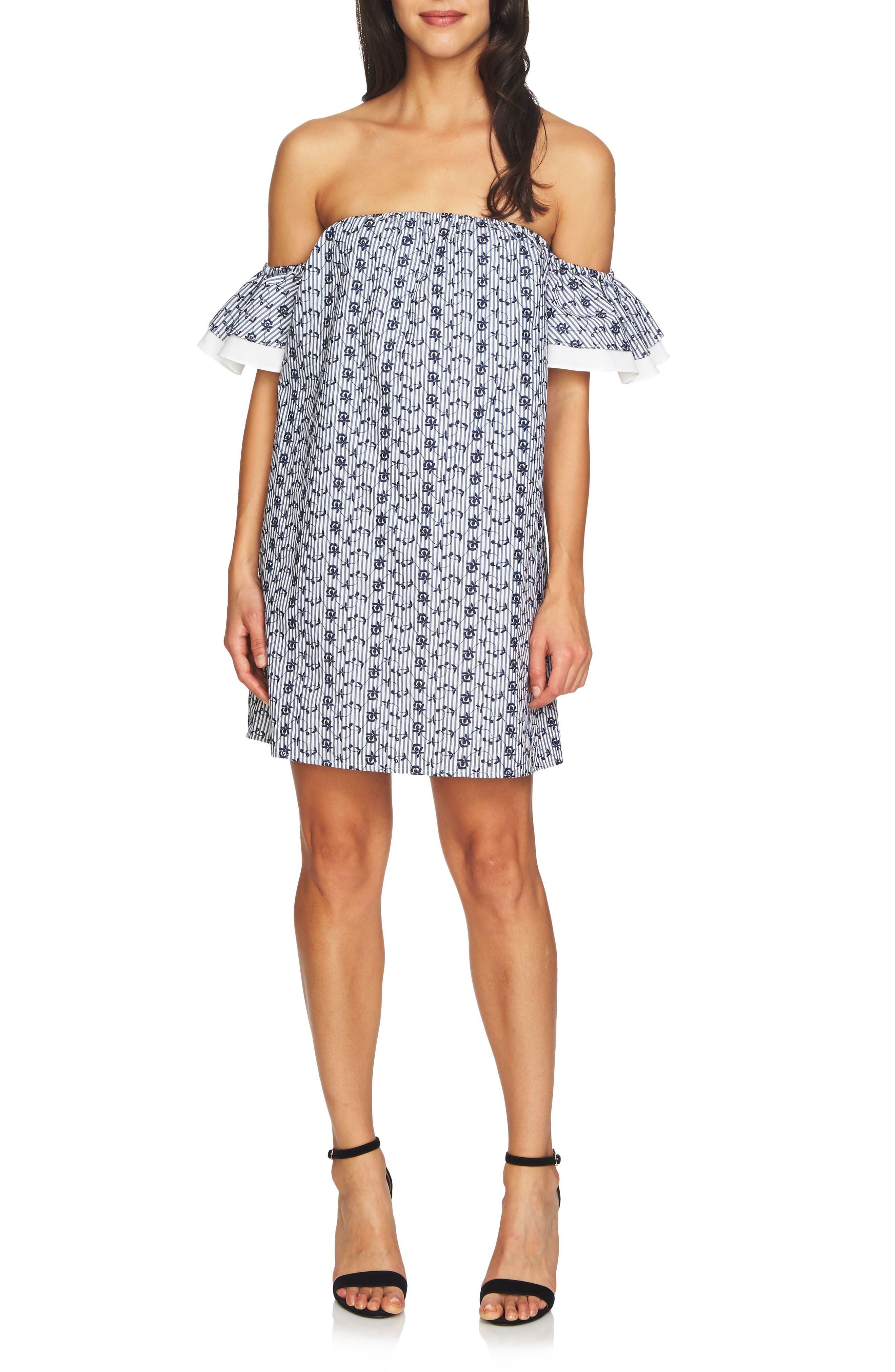 Alternate Image 1 Selected - CeCe Rosanna Off the Shoulder Dress