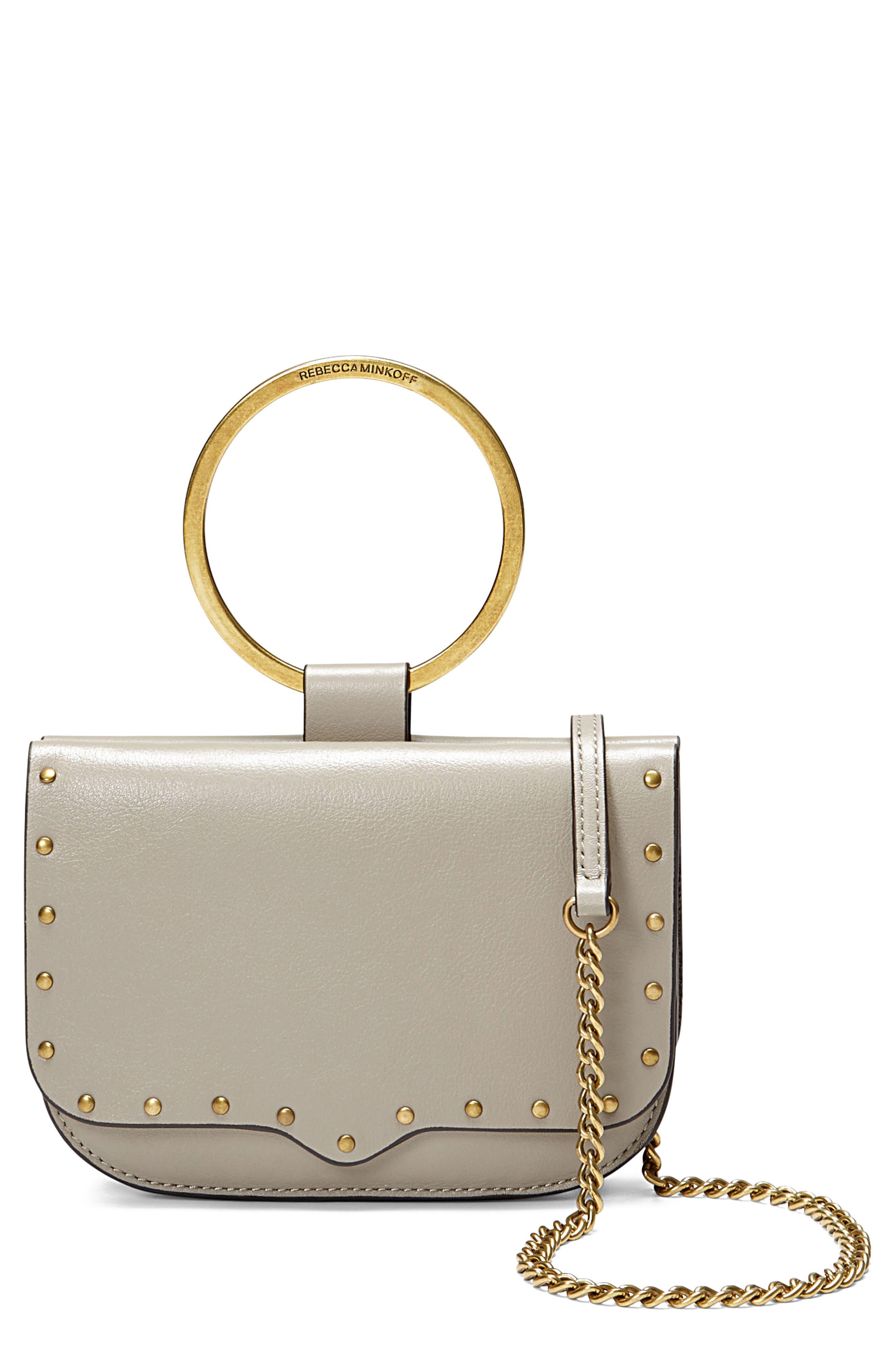 Rebecca Minkoff Ring Leather Crossbody Bag