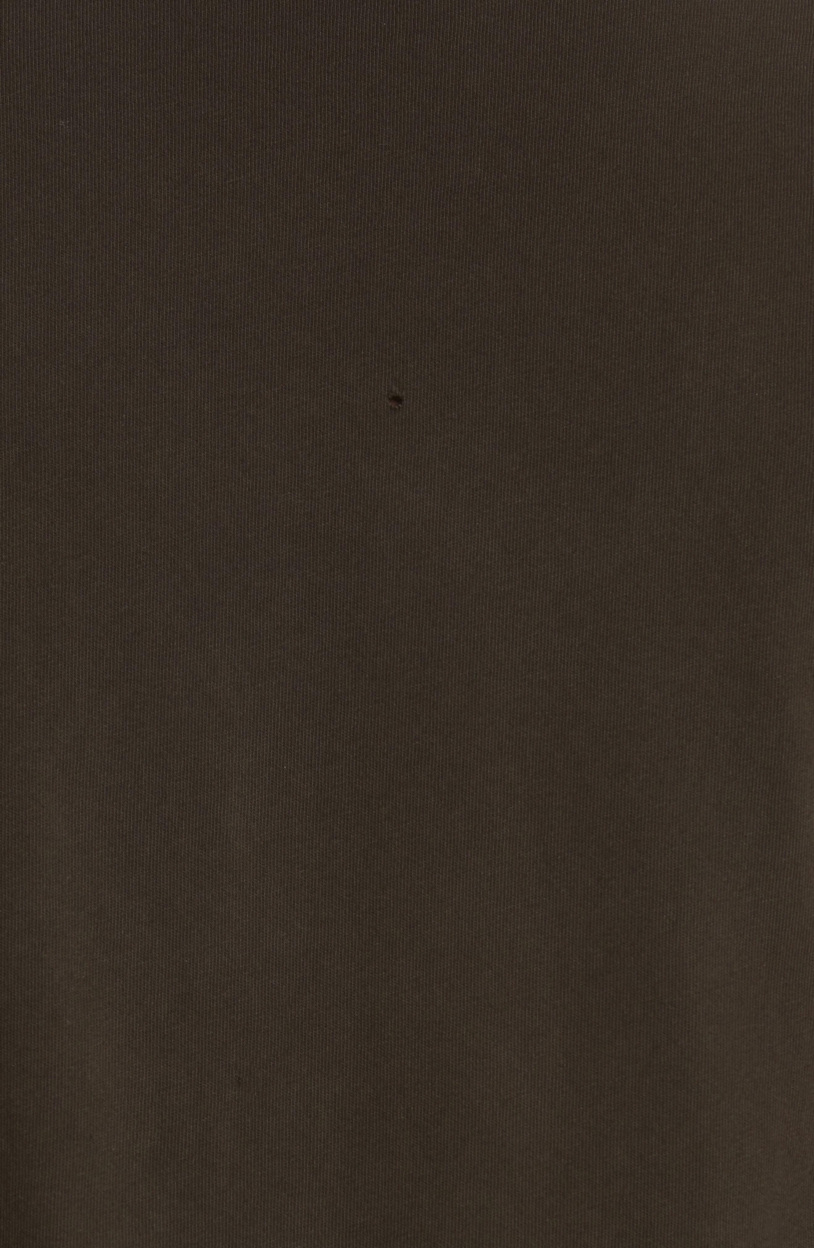 Ramones Graphic T-Shirt,                             Alternate thumbnail 5, color,                             Dirty Black