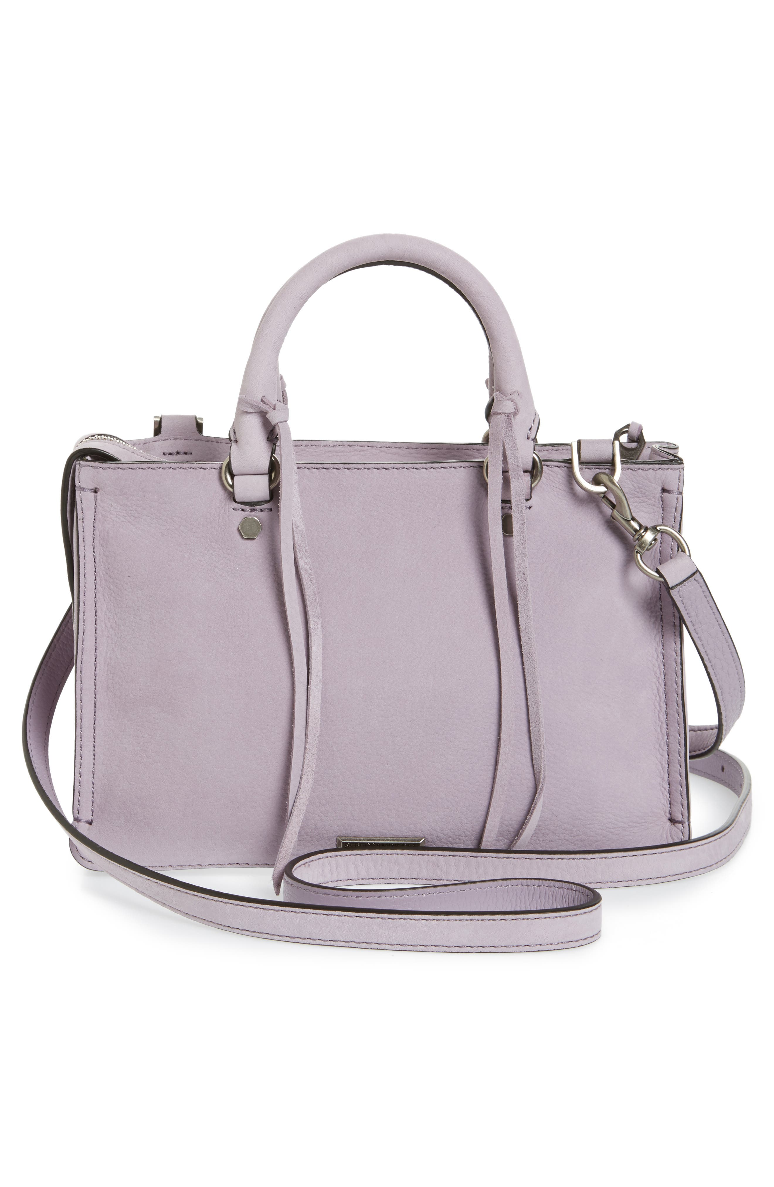 Alternate Image 4  - Rebecca Minkoff Micro Regan Leather Satchel