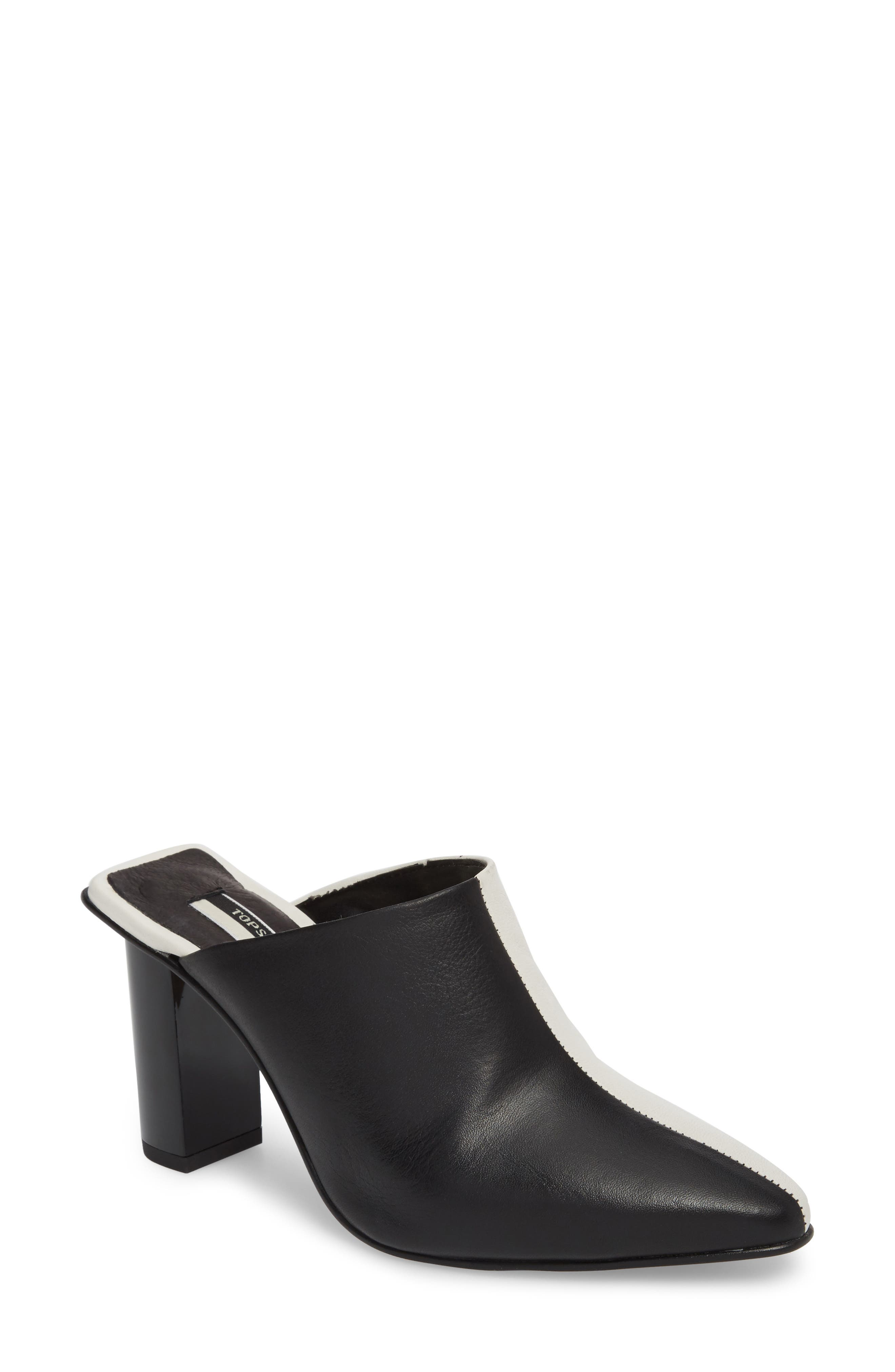 Topshop Glow Two Tone Mule (Women)