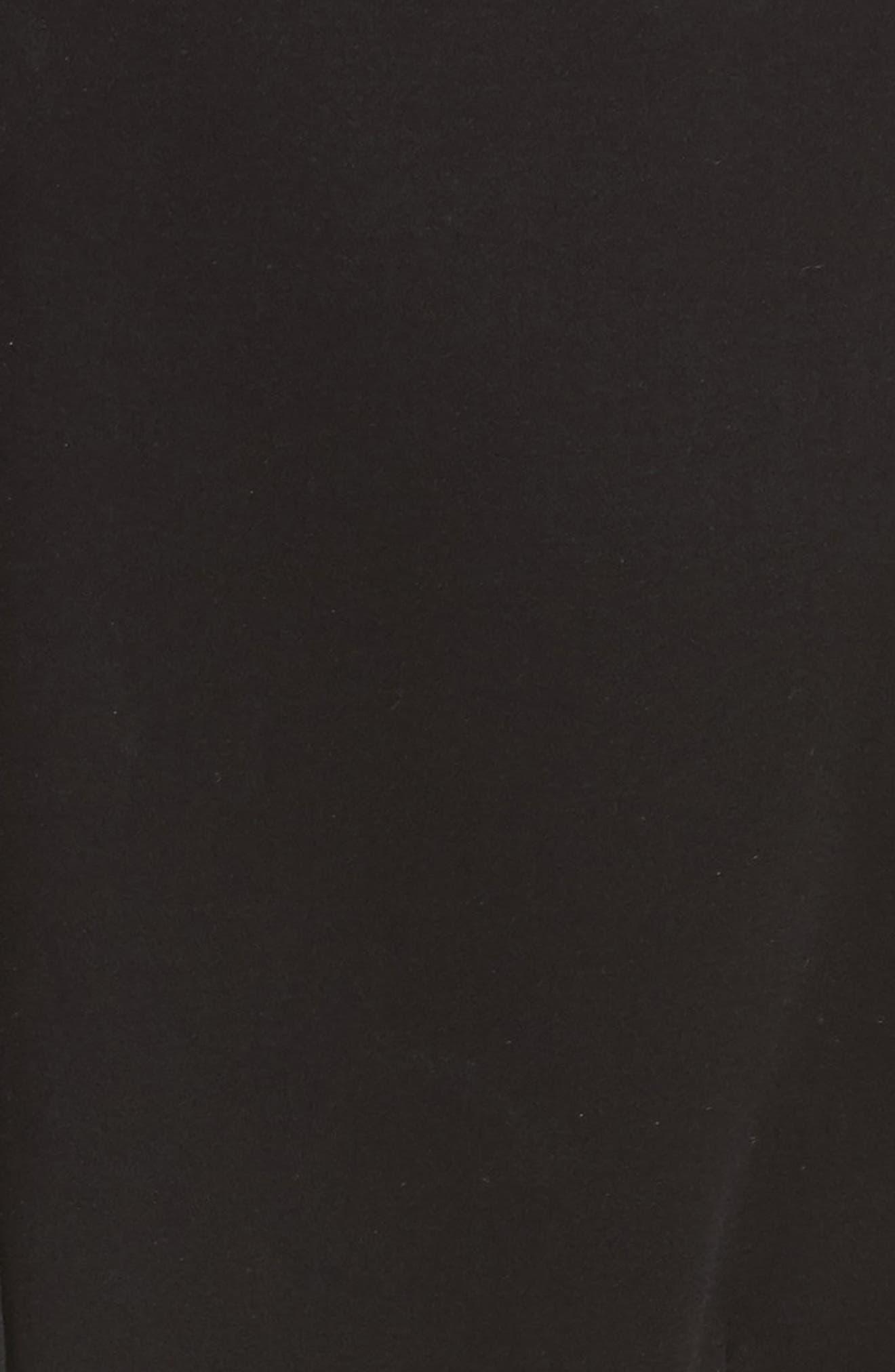 Segnale Sheath Dress,                             Alternate thumbnail 5, color,                             Black