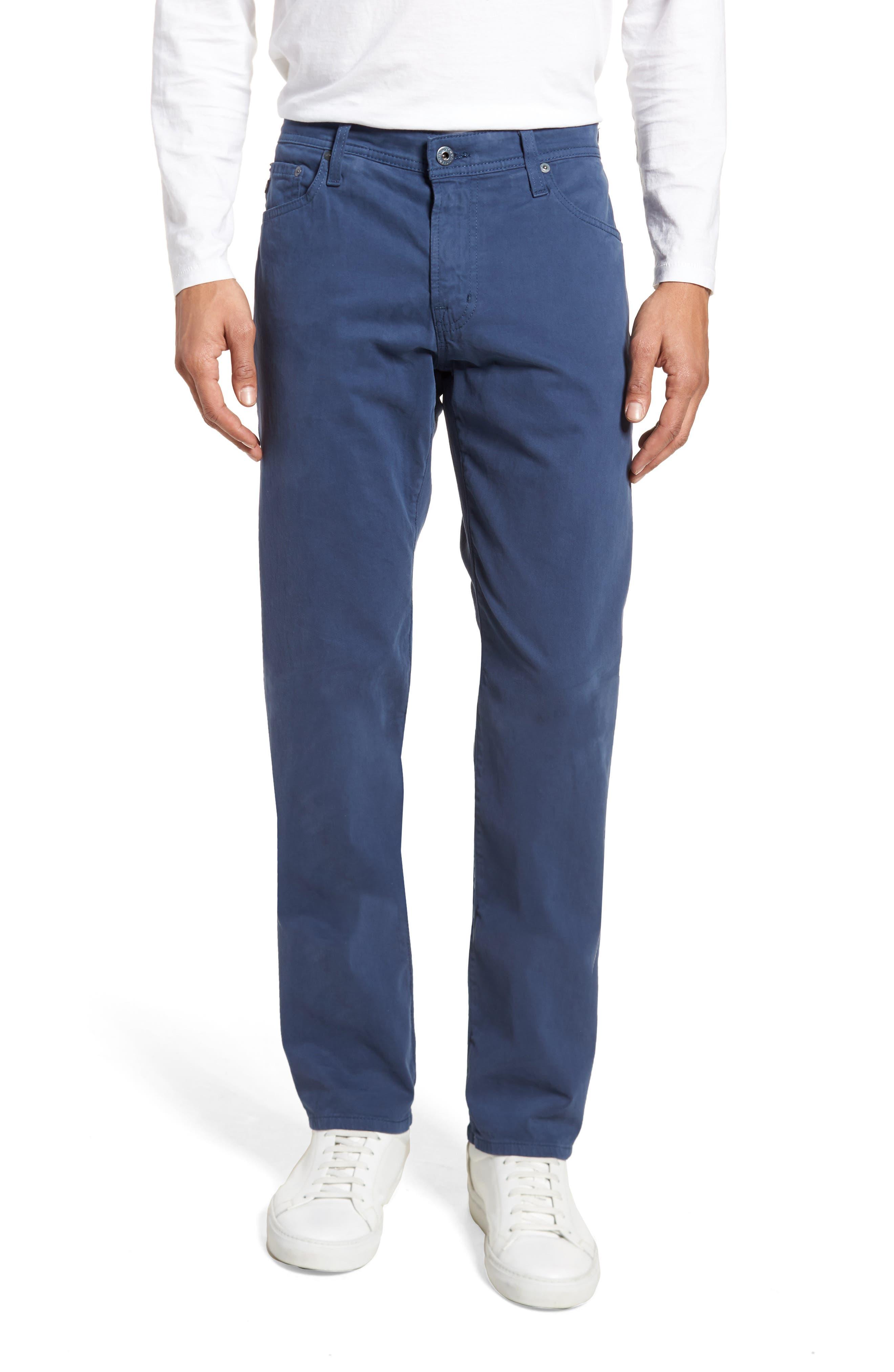 Graduate SUD Slim Straight Leg Pants,                             Main thumbnail 1, color,                             Pacific Coast