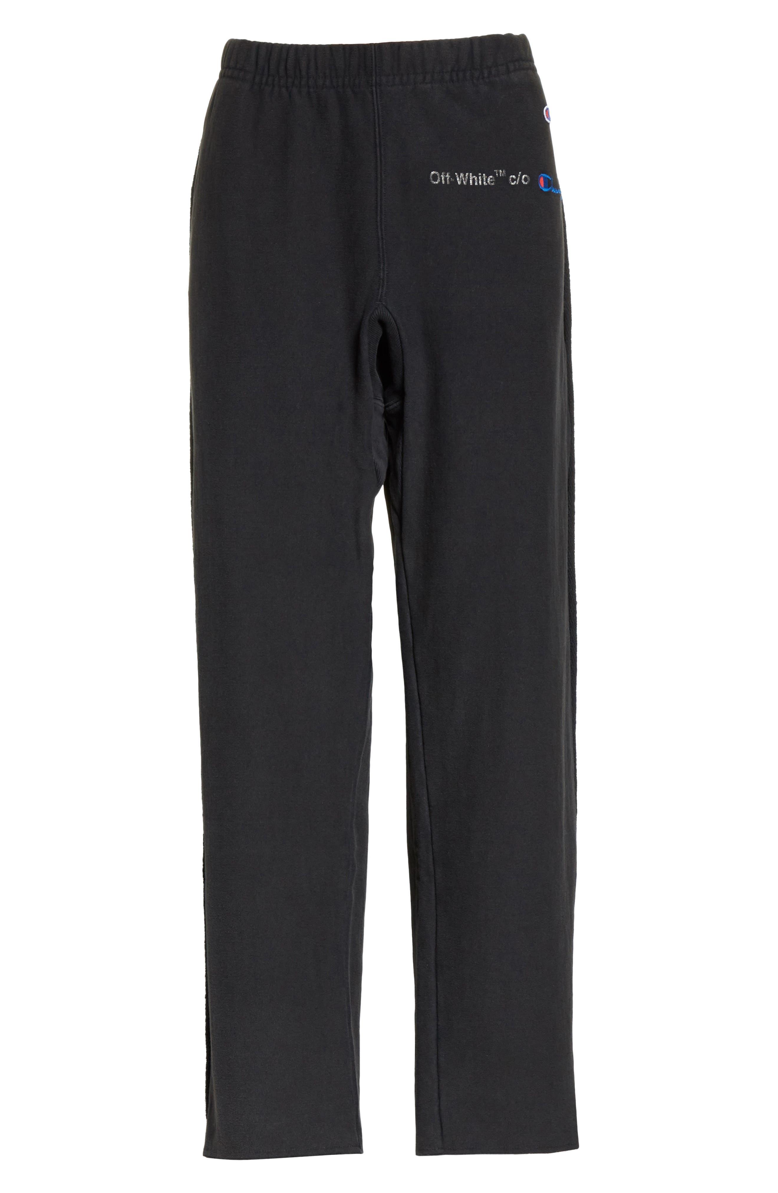 Alternate Image 6  - Off-White x Champion Sweatpants