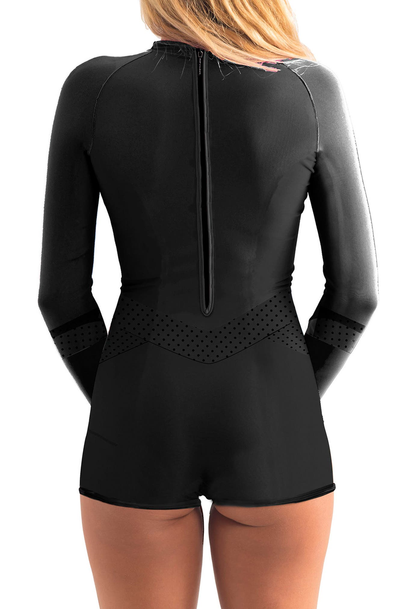 G-Bomb Madison Boyleg Springsuit,                             Alternate thumbnail 2, color,                             Black