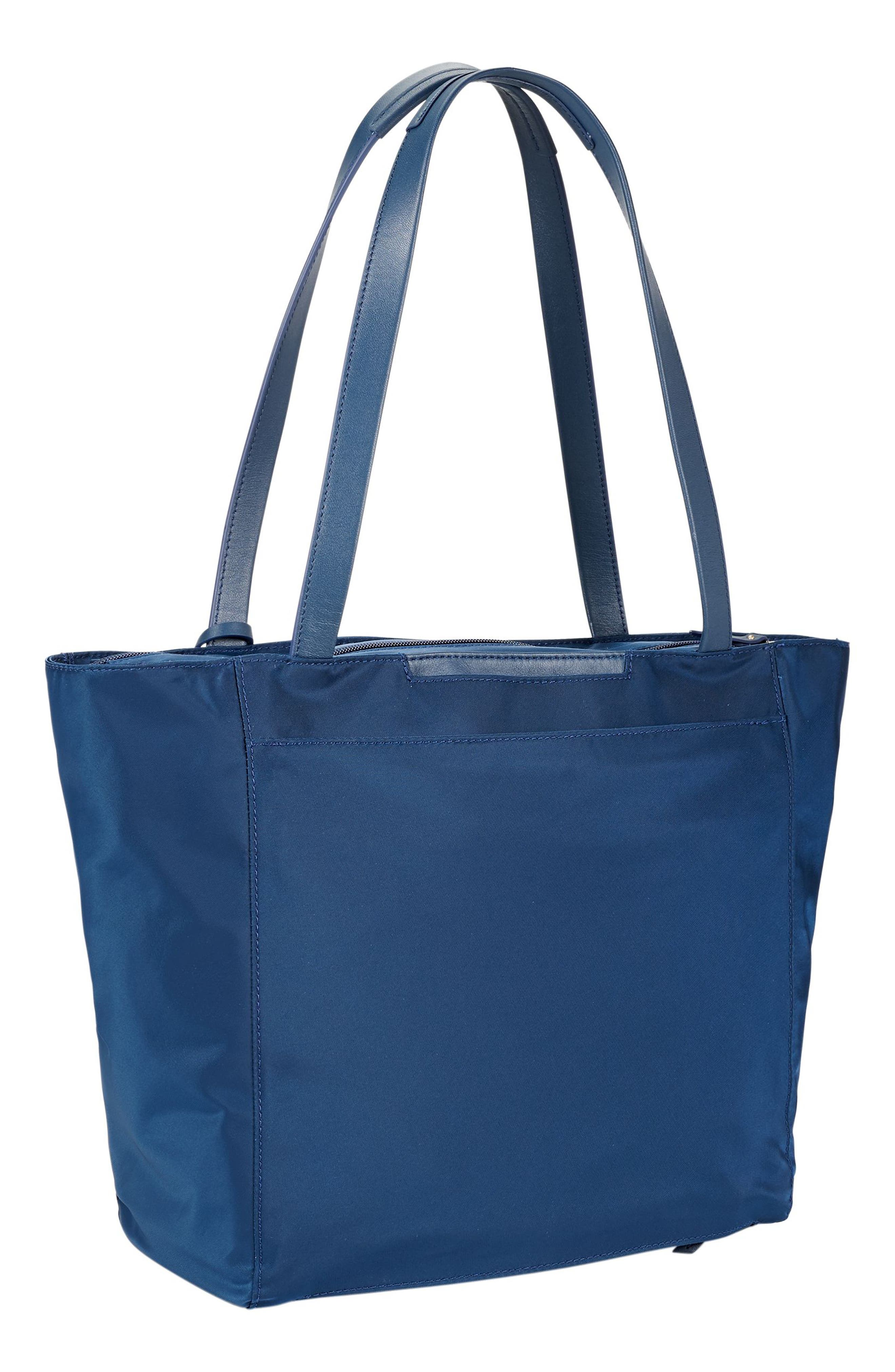 Small M-Tote Nylon Tote,                             Alternate thumbnail 3, color,                             Ocean Blue