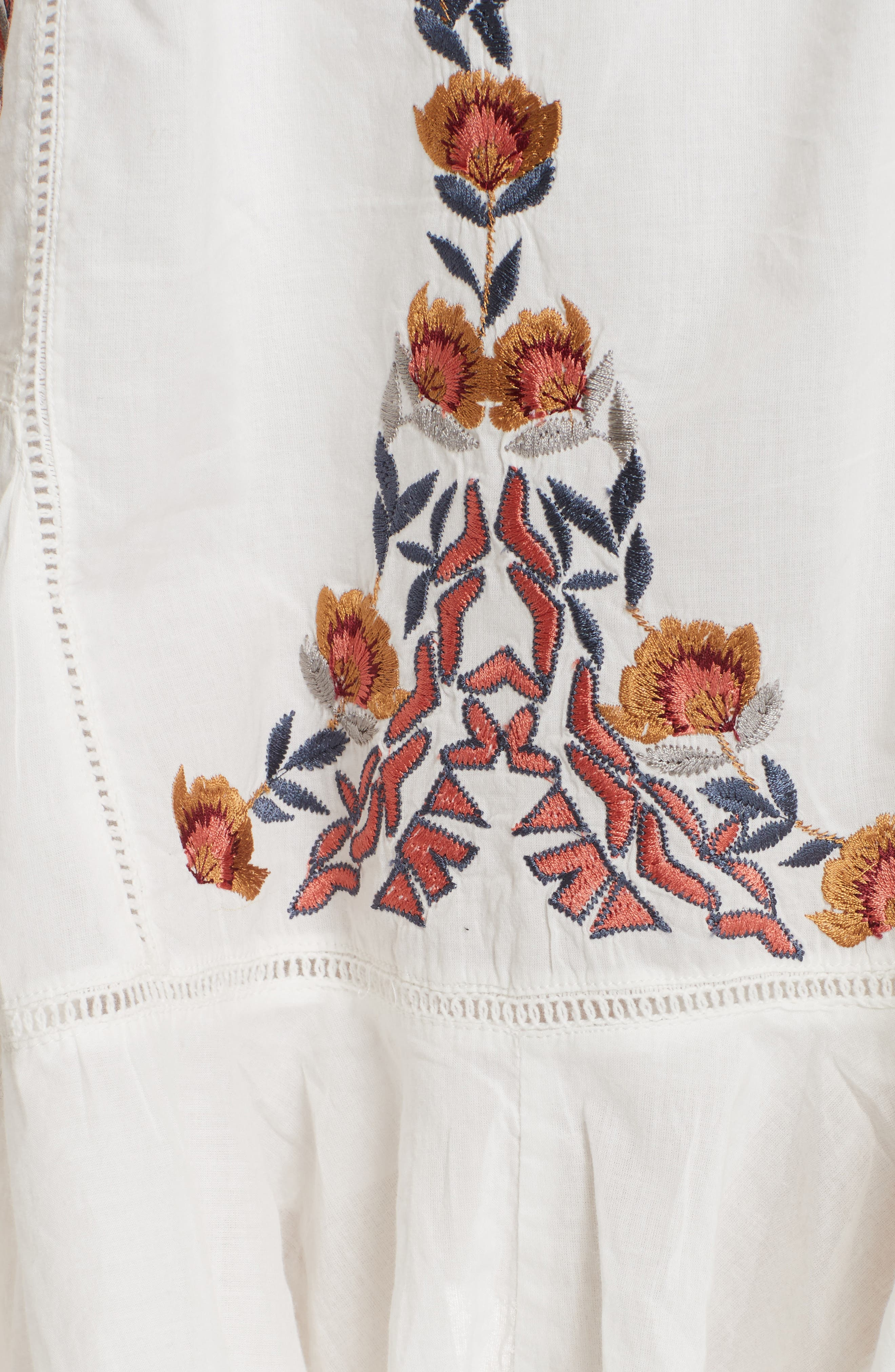 Pavlo Babydoll Dress,                             Alternate thumbnail 5, color,                             Ivory