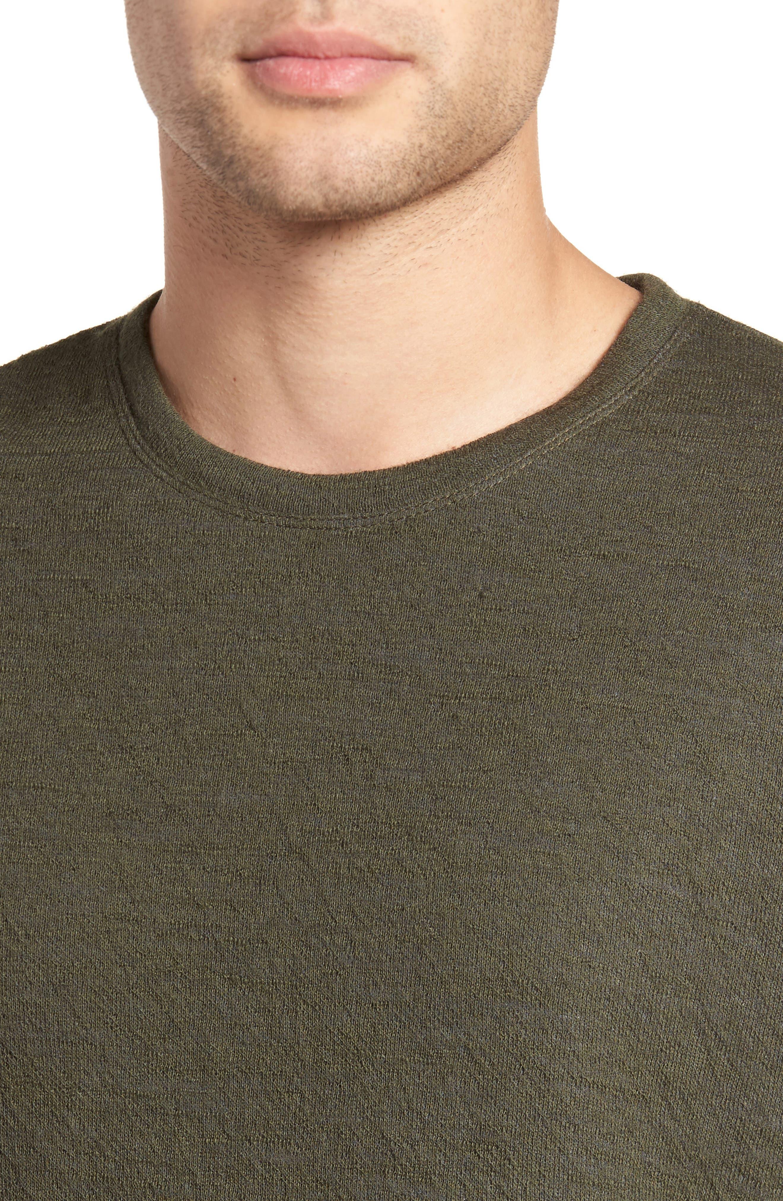 Alternate Image 5  - Vince Double Knit Long Sleeve Shirt