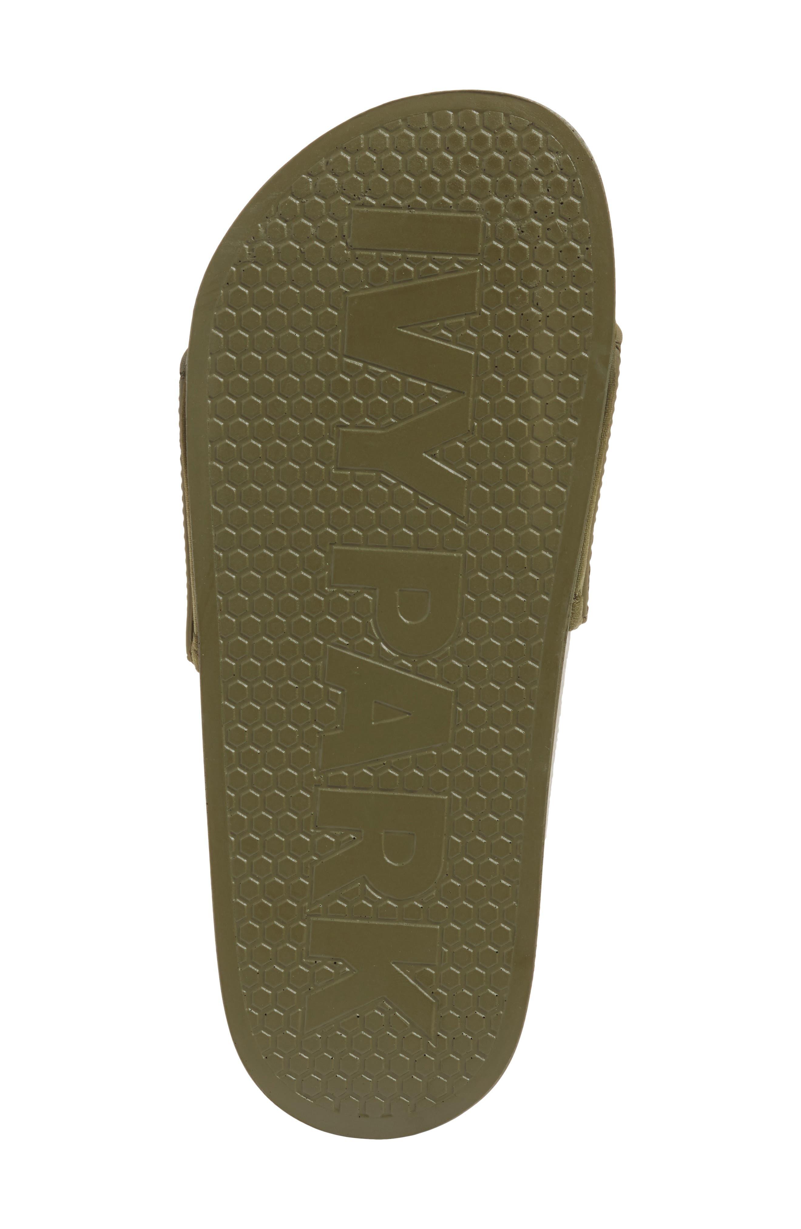 Alternate Image 6  - IVY PARK® Embossed Logo Sock Slide Sandal (Women)