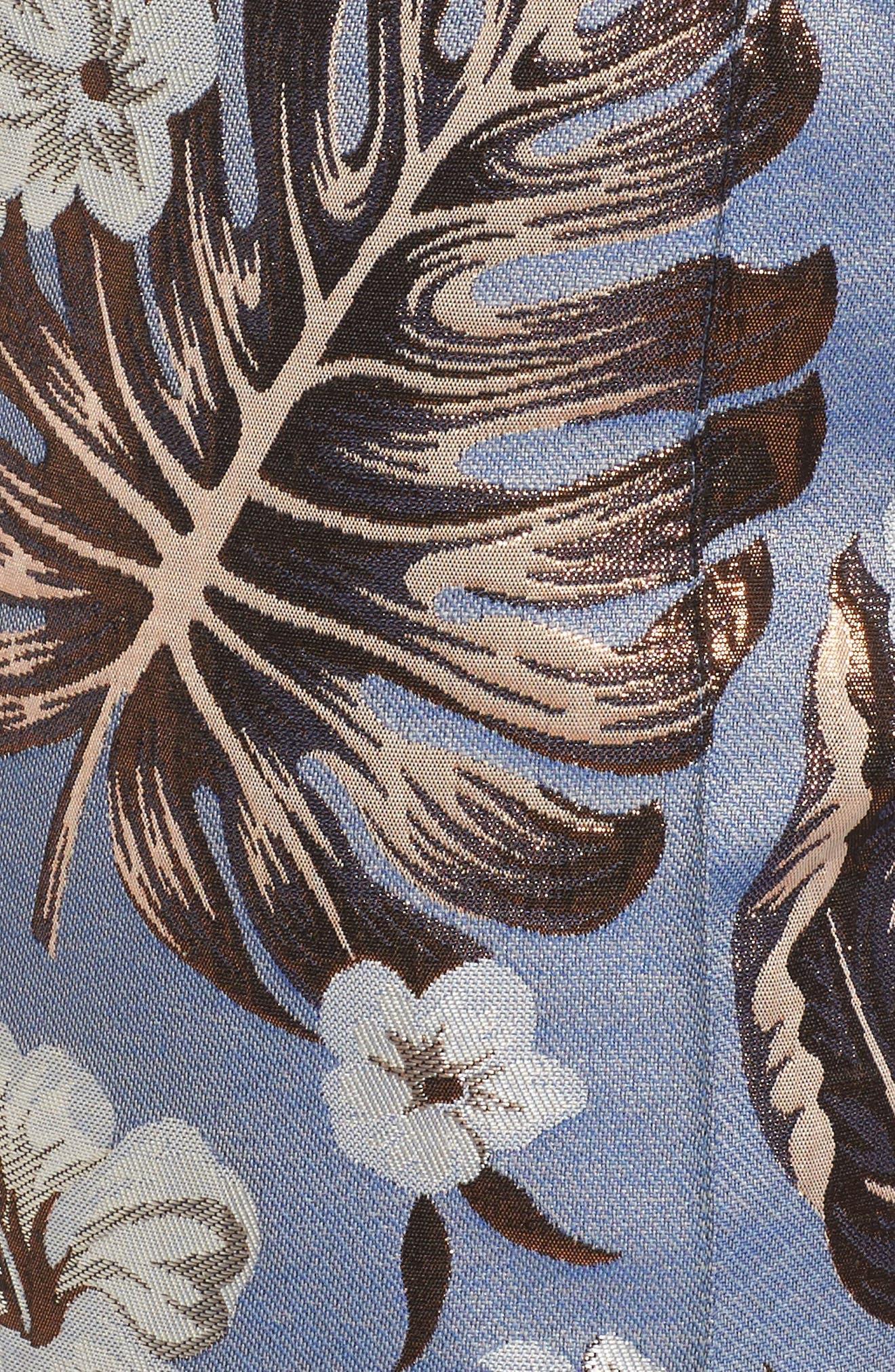Picasso High Waist Pants,                             Alternate thumbnail 5, color,                             Denim
