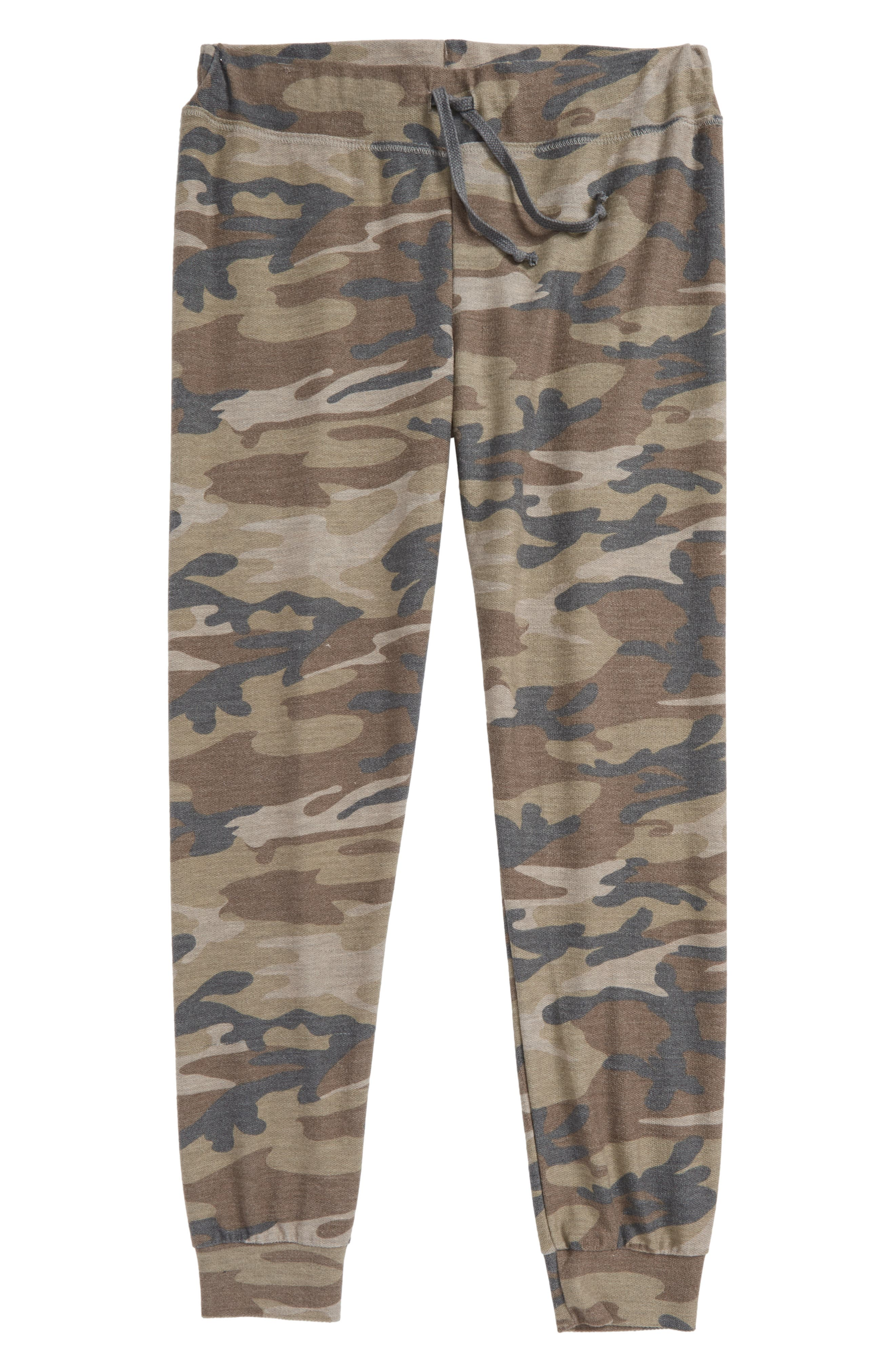 Camo Sweatpants,                         Main,                         color, Olive