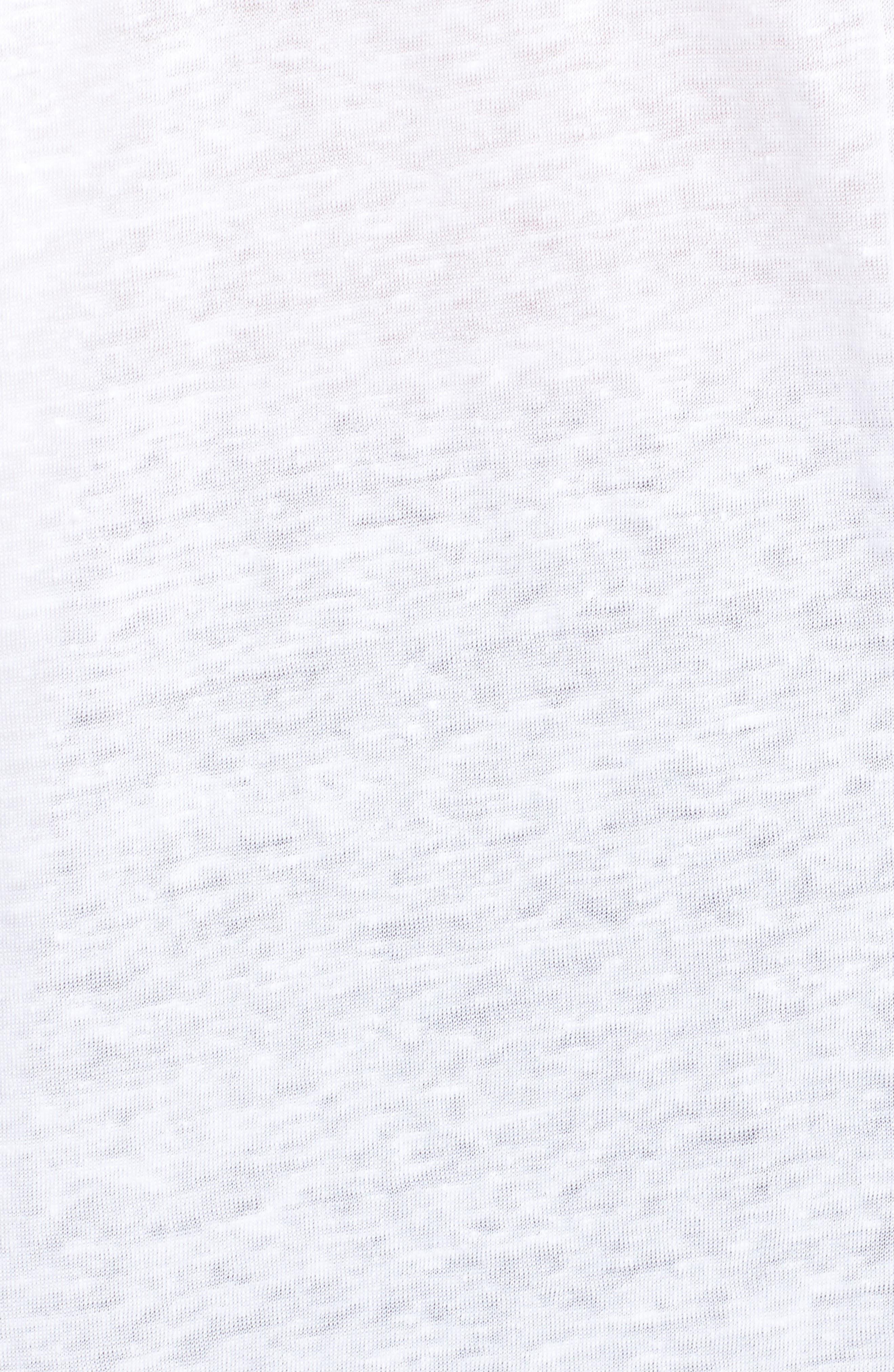Meryl Lin Tee,                             Alternate thumbnail 5, color,                             White