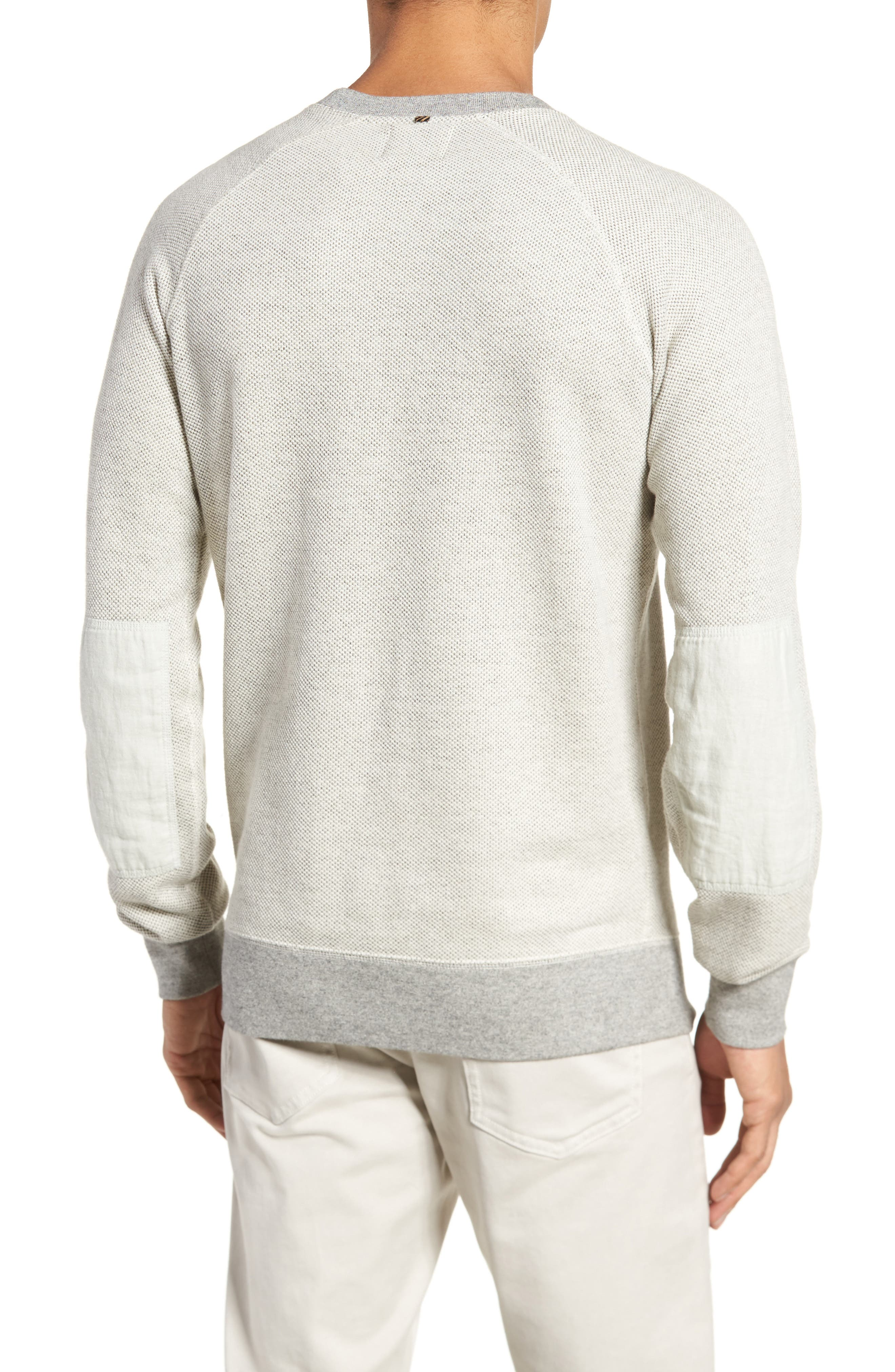 Tommy Pullover Sweatshirt,                             Alternate thumbnail 2, color,                             Light Grey