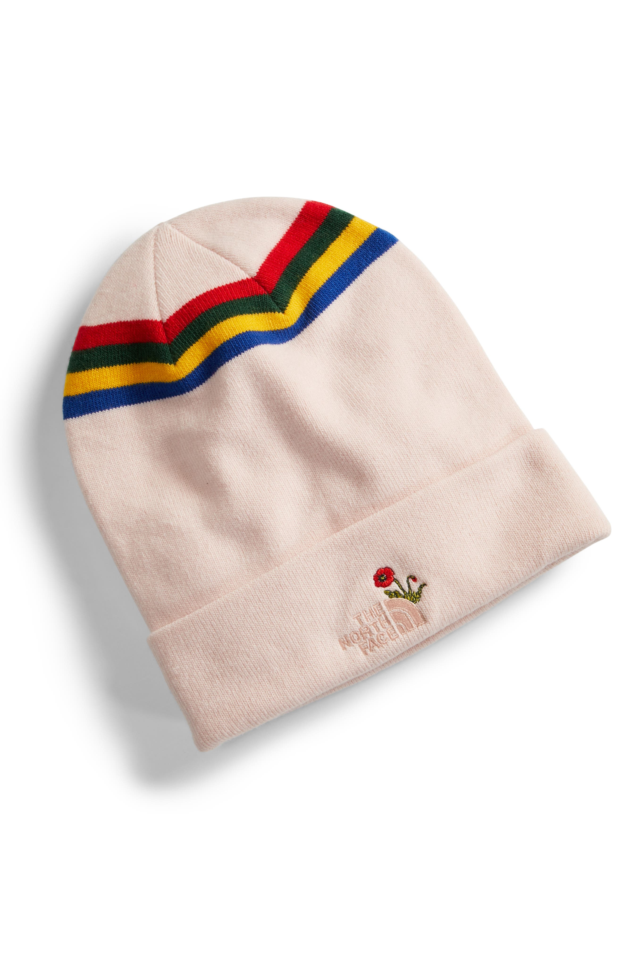 Poppy Dock Workers Beanie,                             Main thumbnail 1, color,                             Purdy Pink