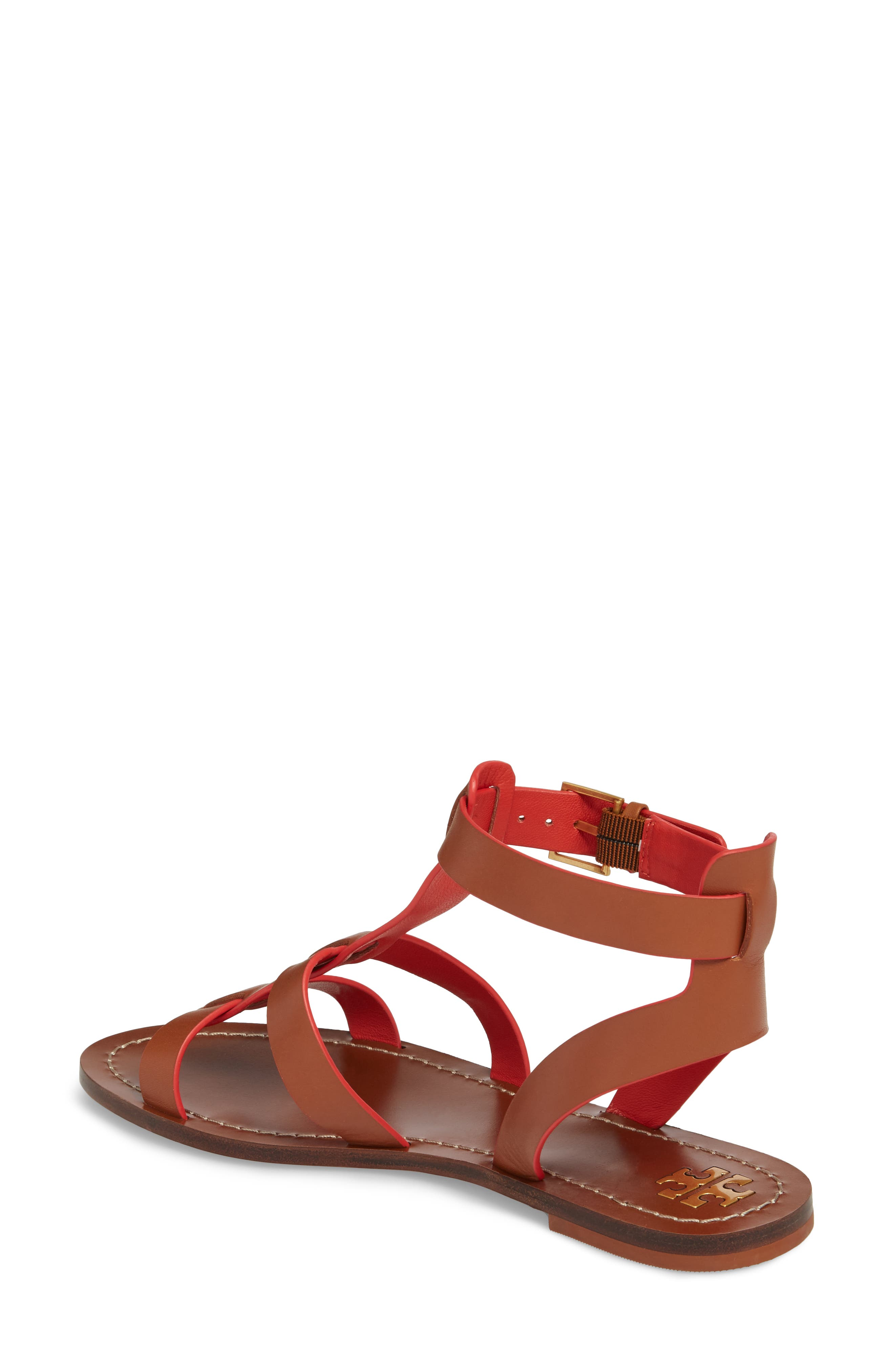 Patos Gladiator Sandal,                             Alternate thumbnail 2, color,                             Perfect Cuoio
