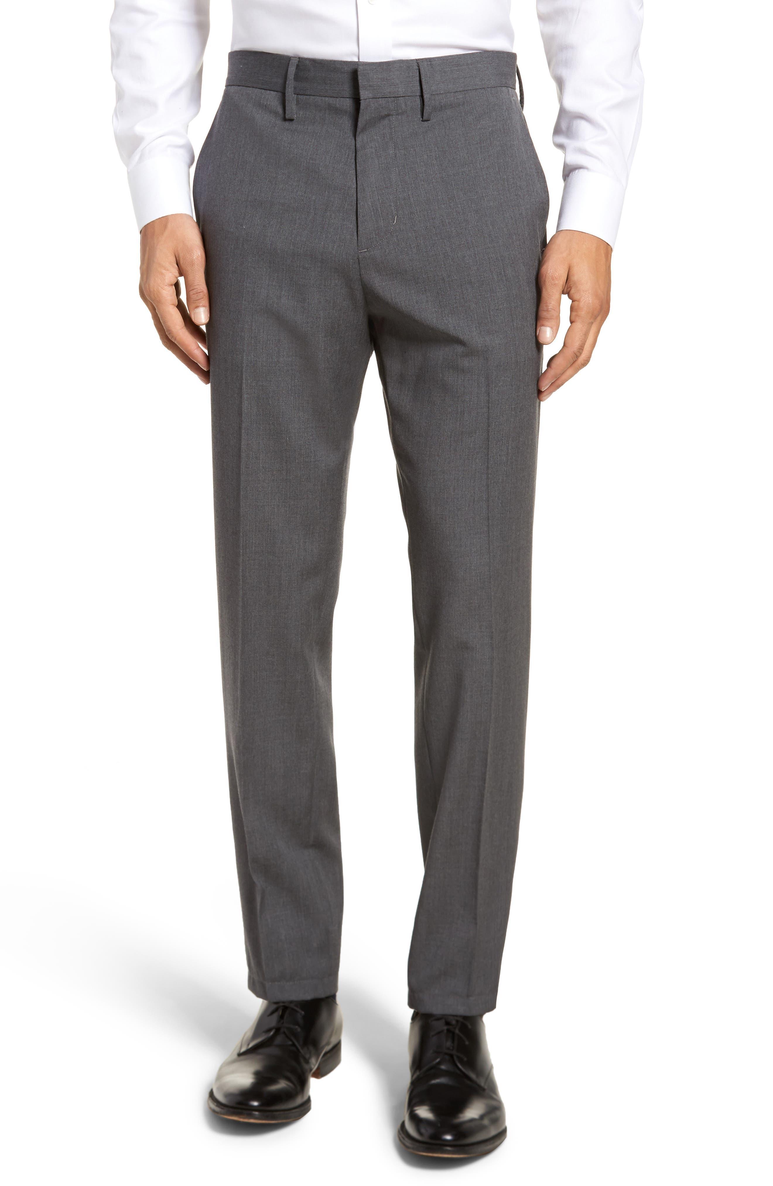 Calibrate Slim Wool Trousers