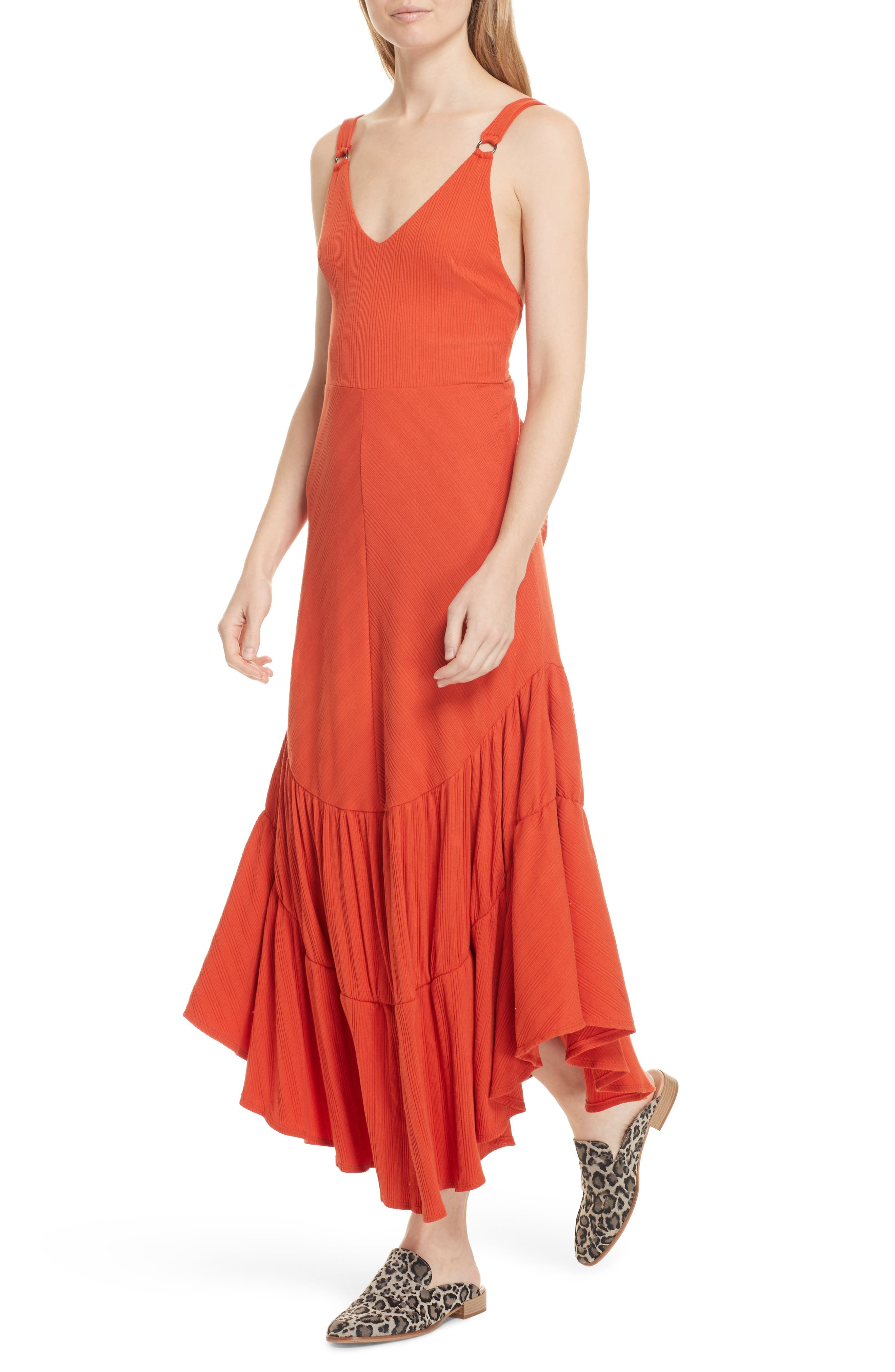 Into You Maxi,                             Alternate thumbnail 4, color,                             Red