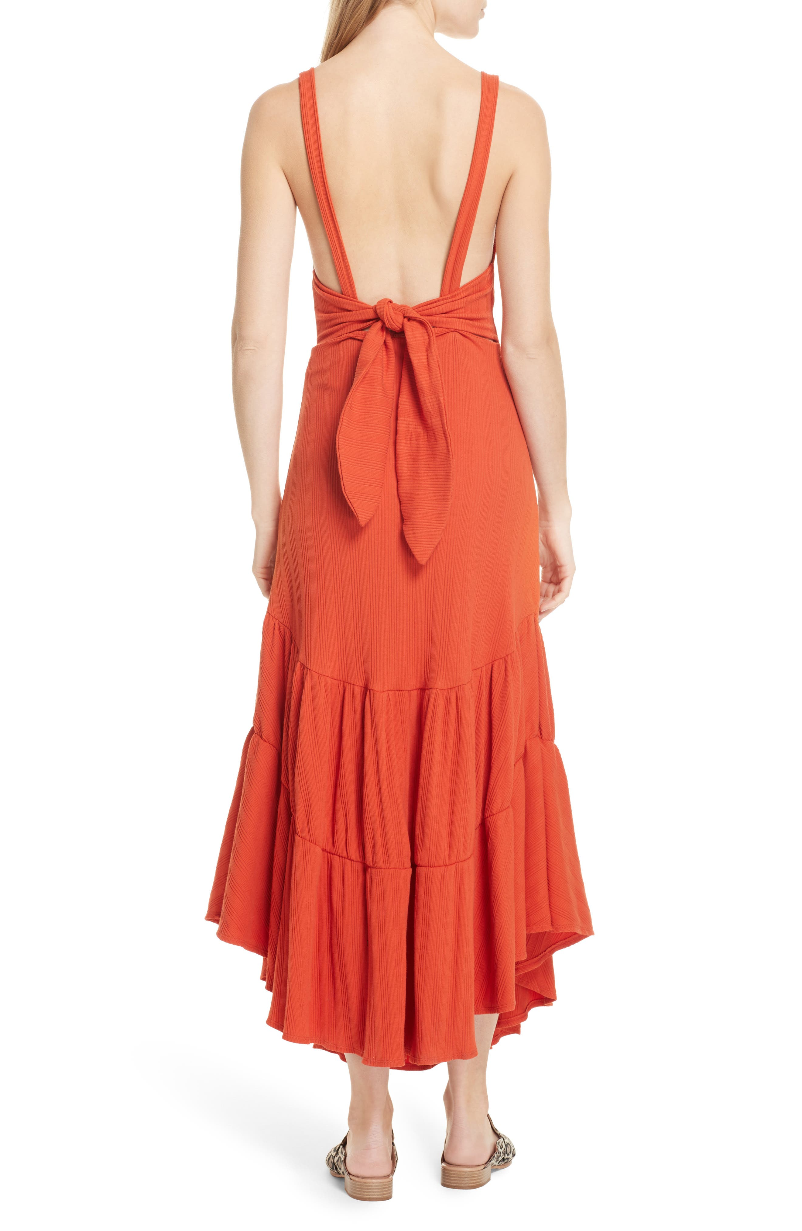 Into You Maxi,                             Alternate thumbnail 2, color,                             Red