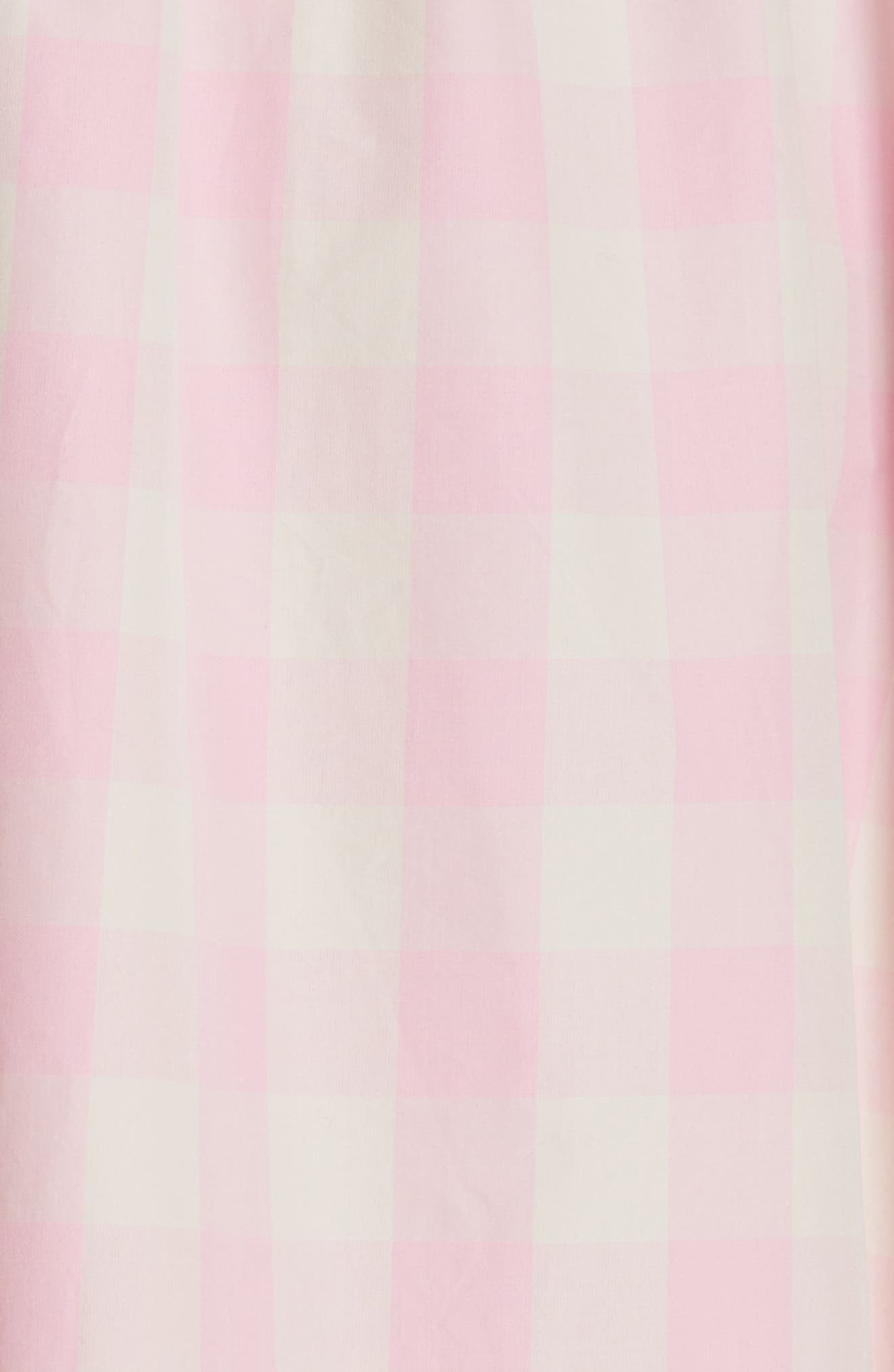 Alternate Image 5  - Sofie D'Hoore Gathered Waist Gingham Dress