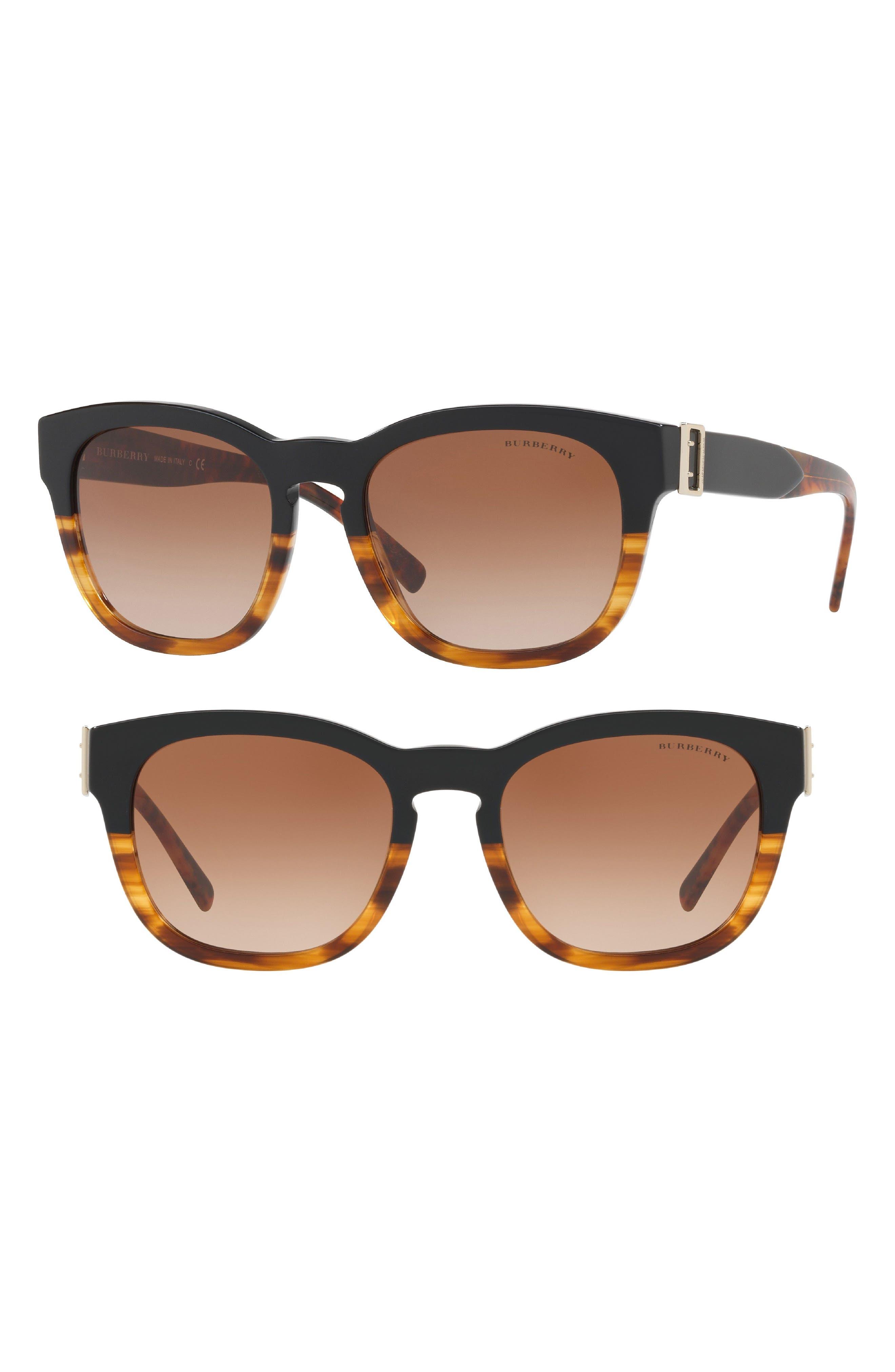 Burberry 54mm Cat Eye Sunglasses