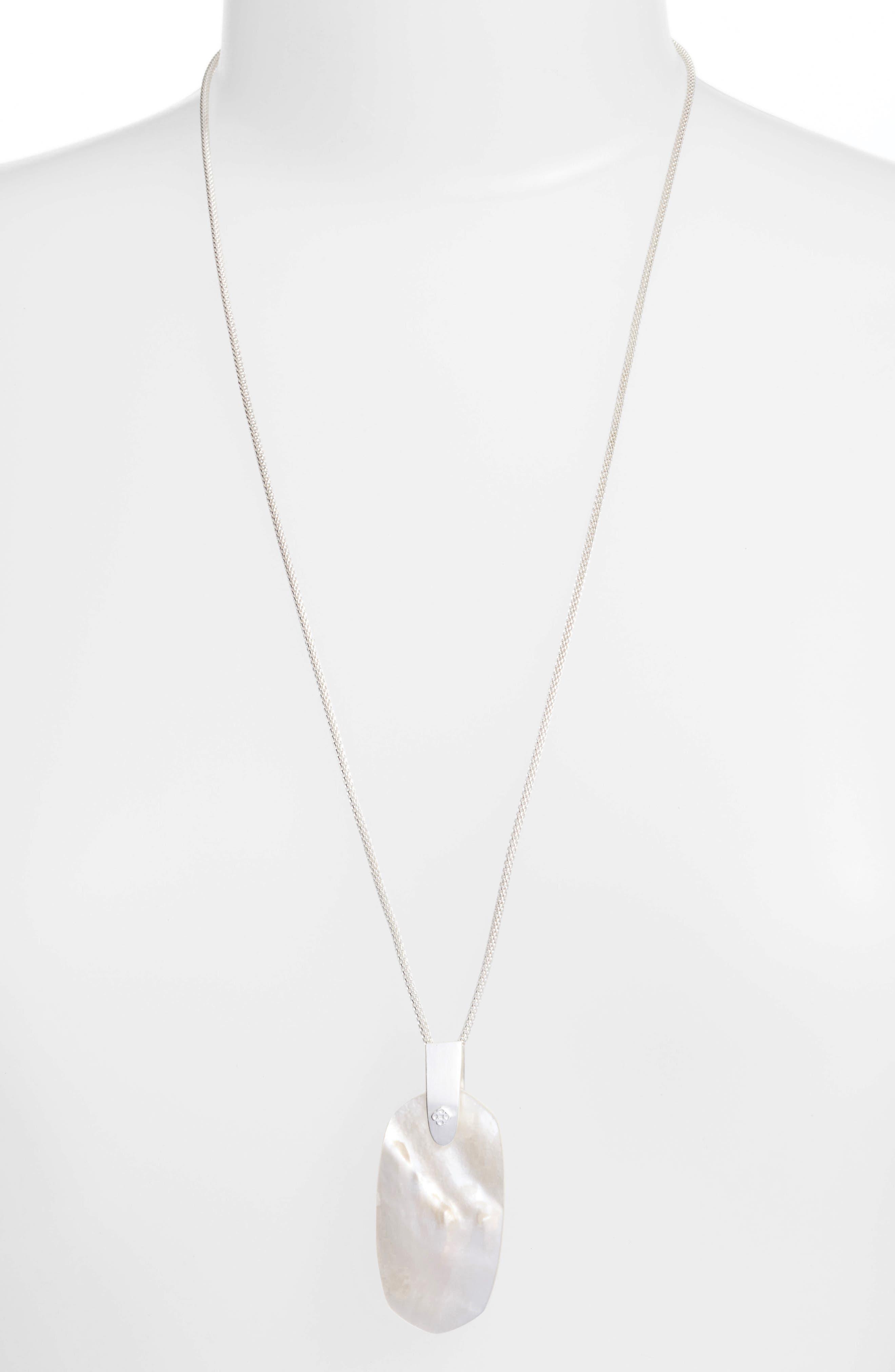 Womens long strand necklaces nordstrom kendra scott inez pendant necklace mozeypictures Choice Image