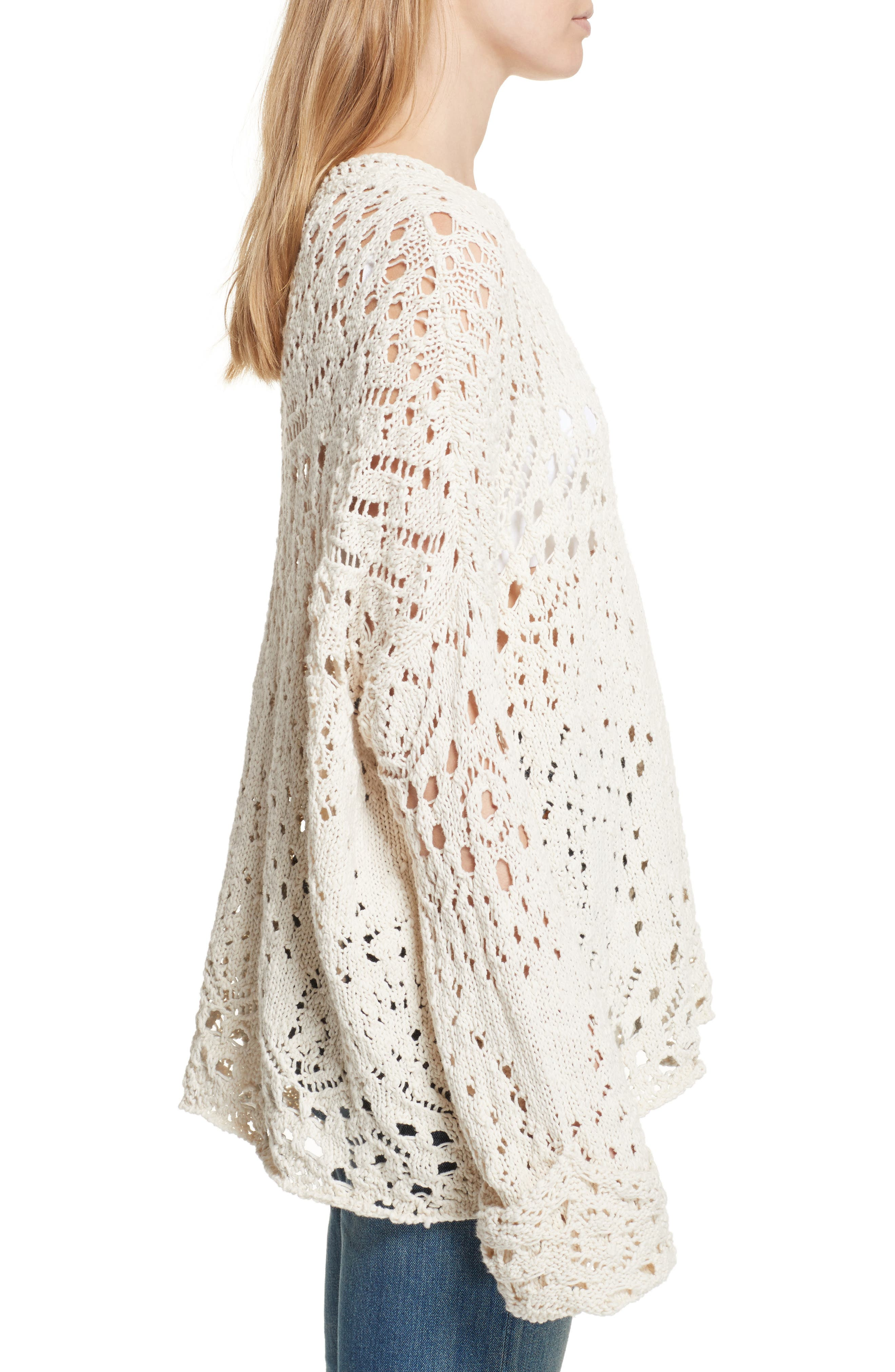 Alternate Image 3  - Free People Traveling Lace Sweater