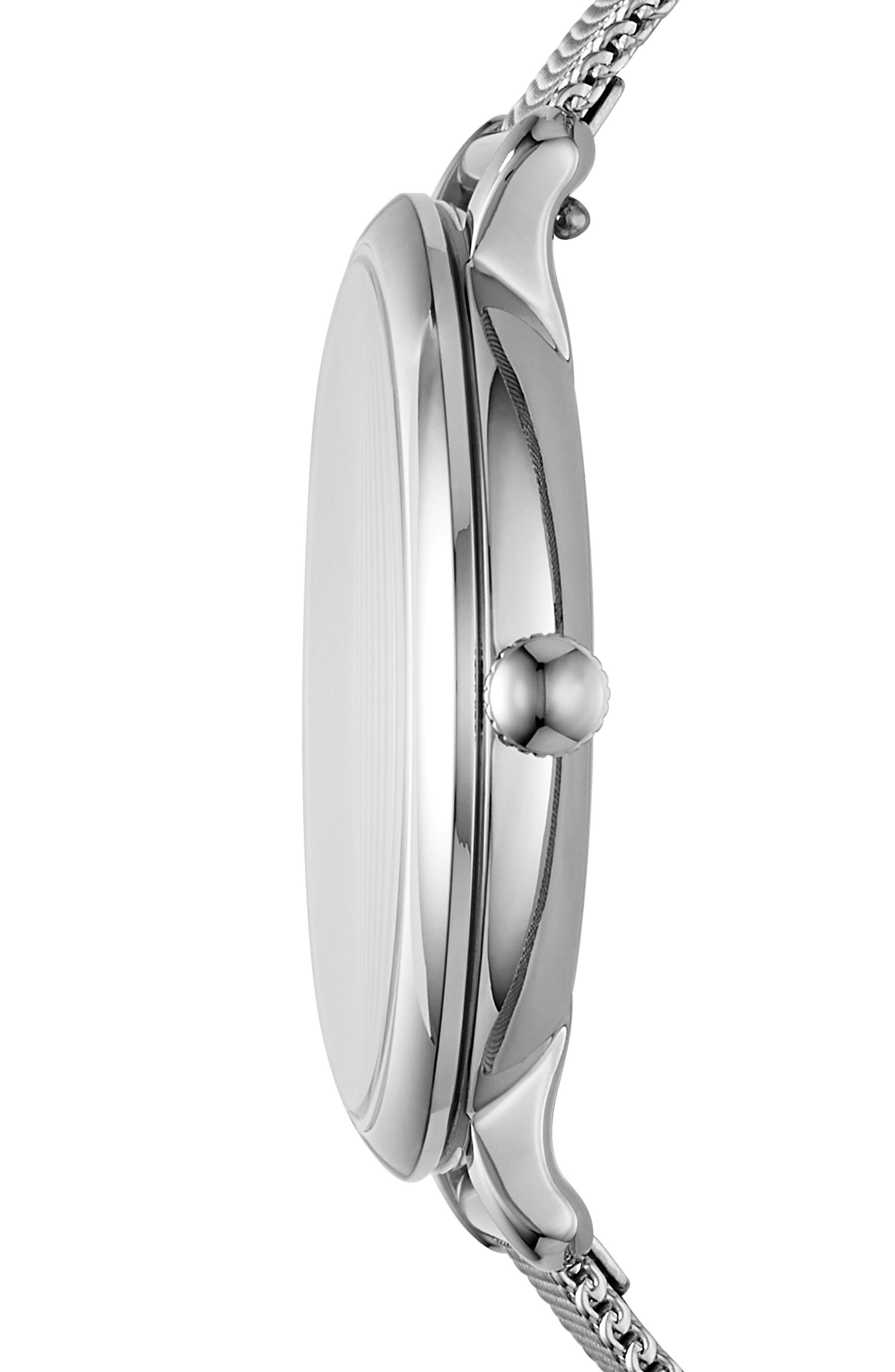 Alternate Image 2  - Fossil Jacqueline Mesh Strap Watch, 36mm
